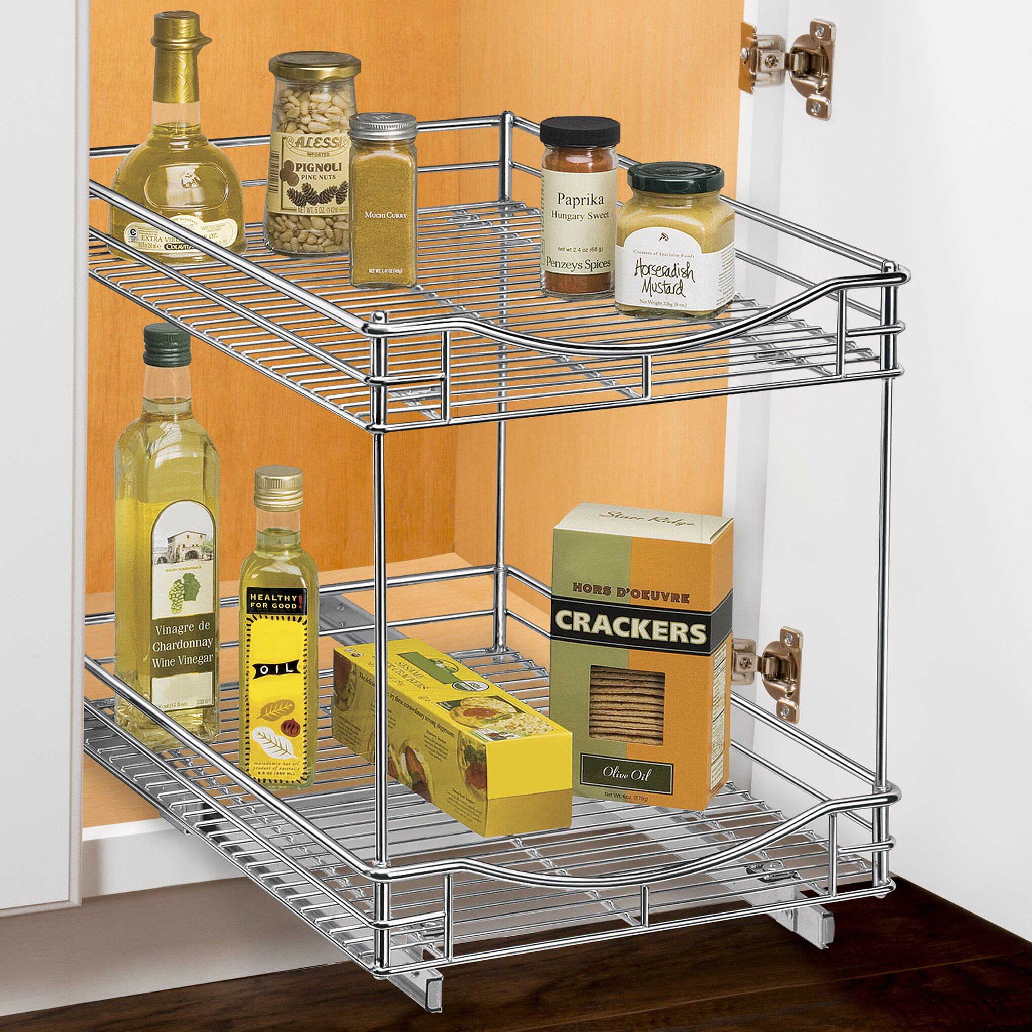Lynk Professional Roll Out Double Shelf