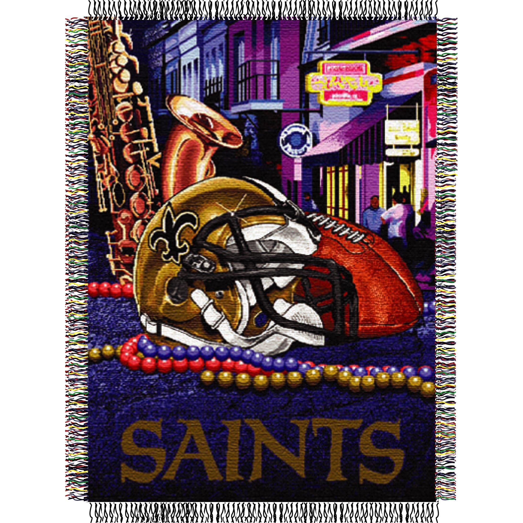 Nfl New Orleans Saints Tapestry Throw Wayfair