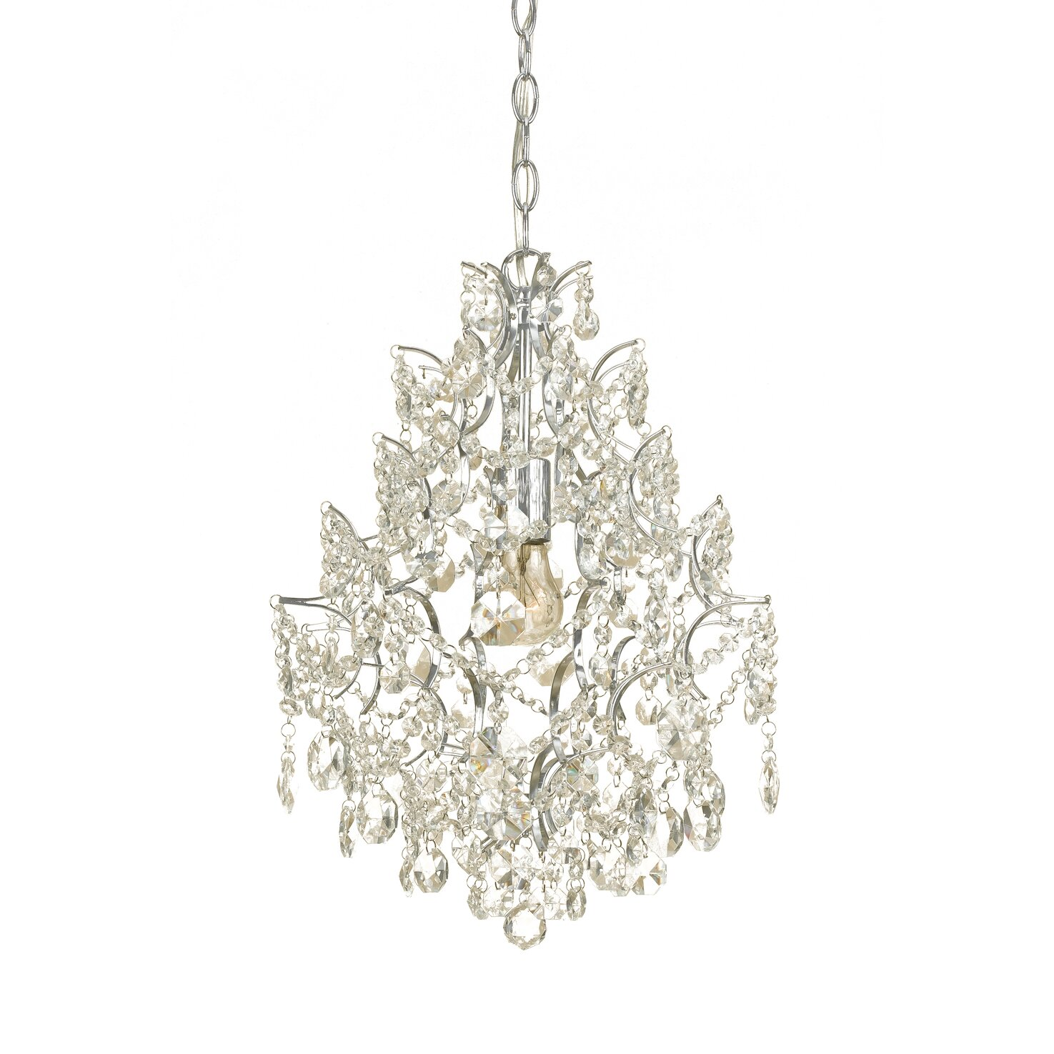 maria theresa collection mini chandelier crystal traditional