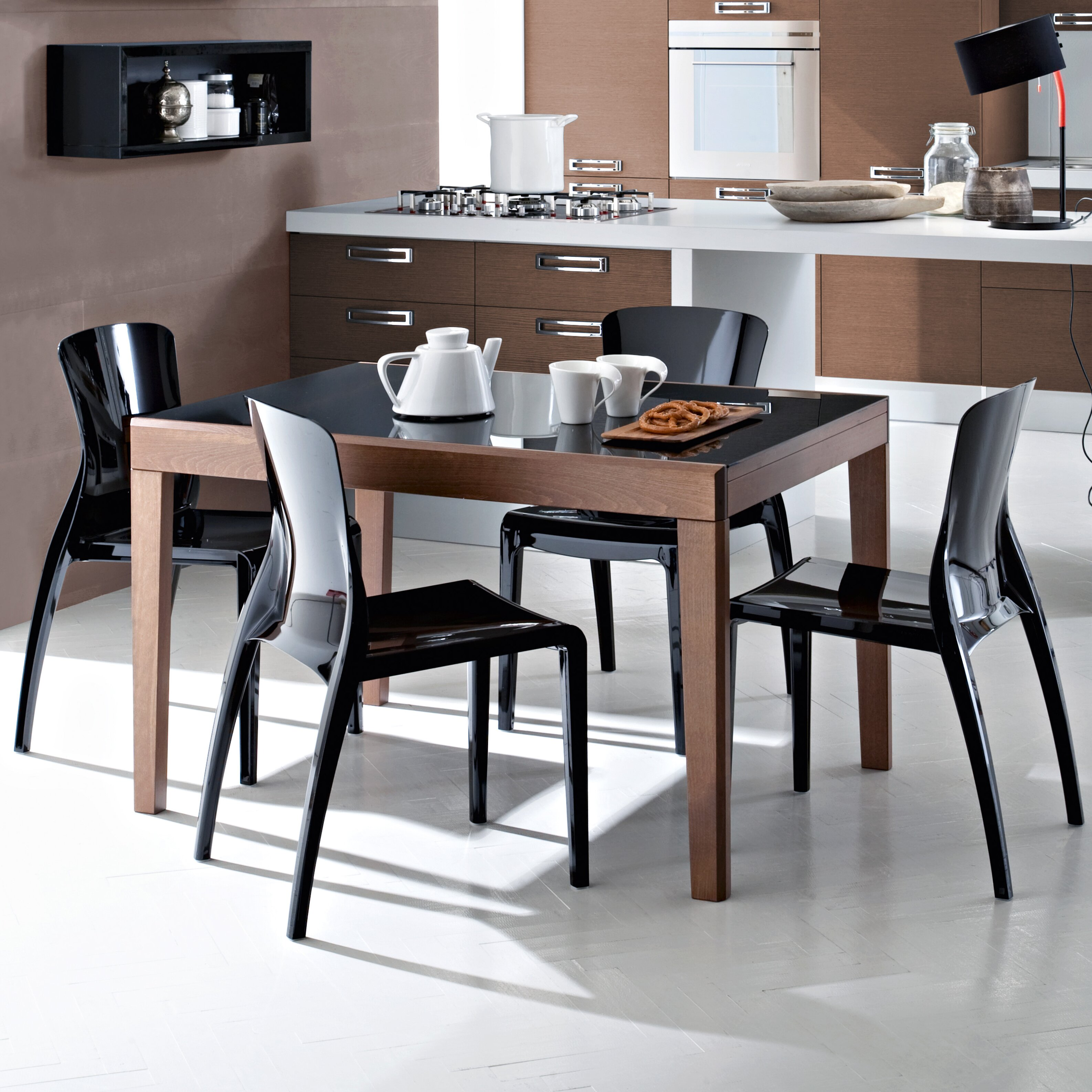Domitalia asso extendable dining table reviews wayfair uk for Domitalia stone t dining table