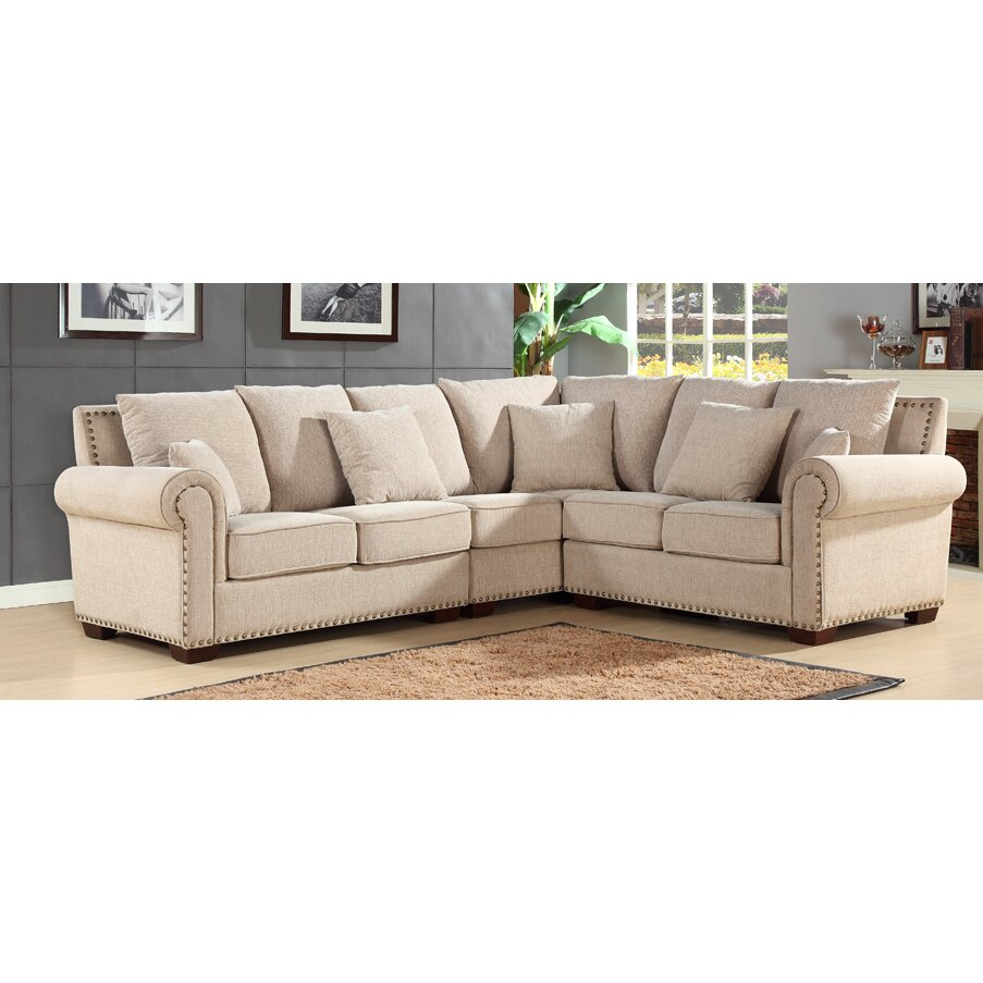living room furniture beige sectional sofas abbyson living