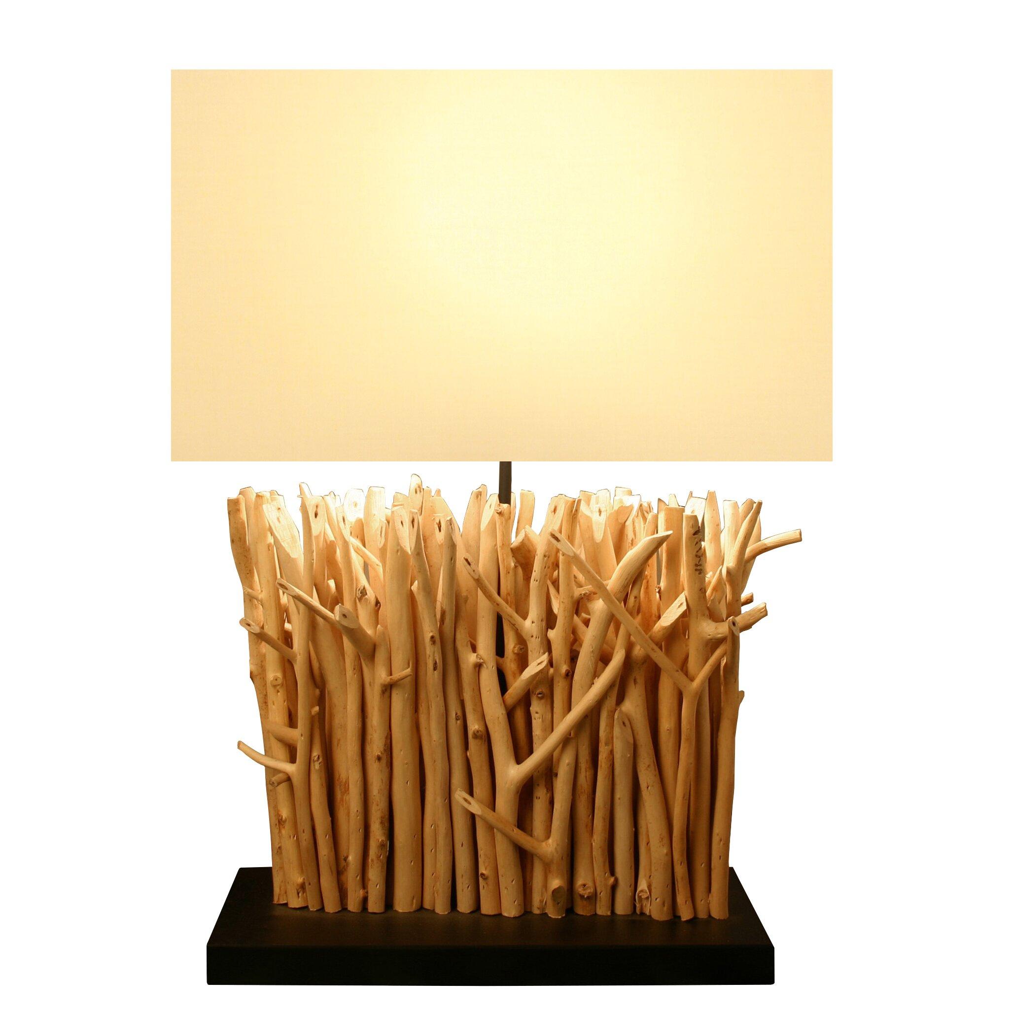 bellini modern living 22 h table lamp with rectangular. Black Bedroom Furniture Sets. Home Design Ideas