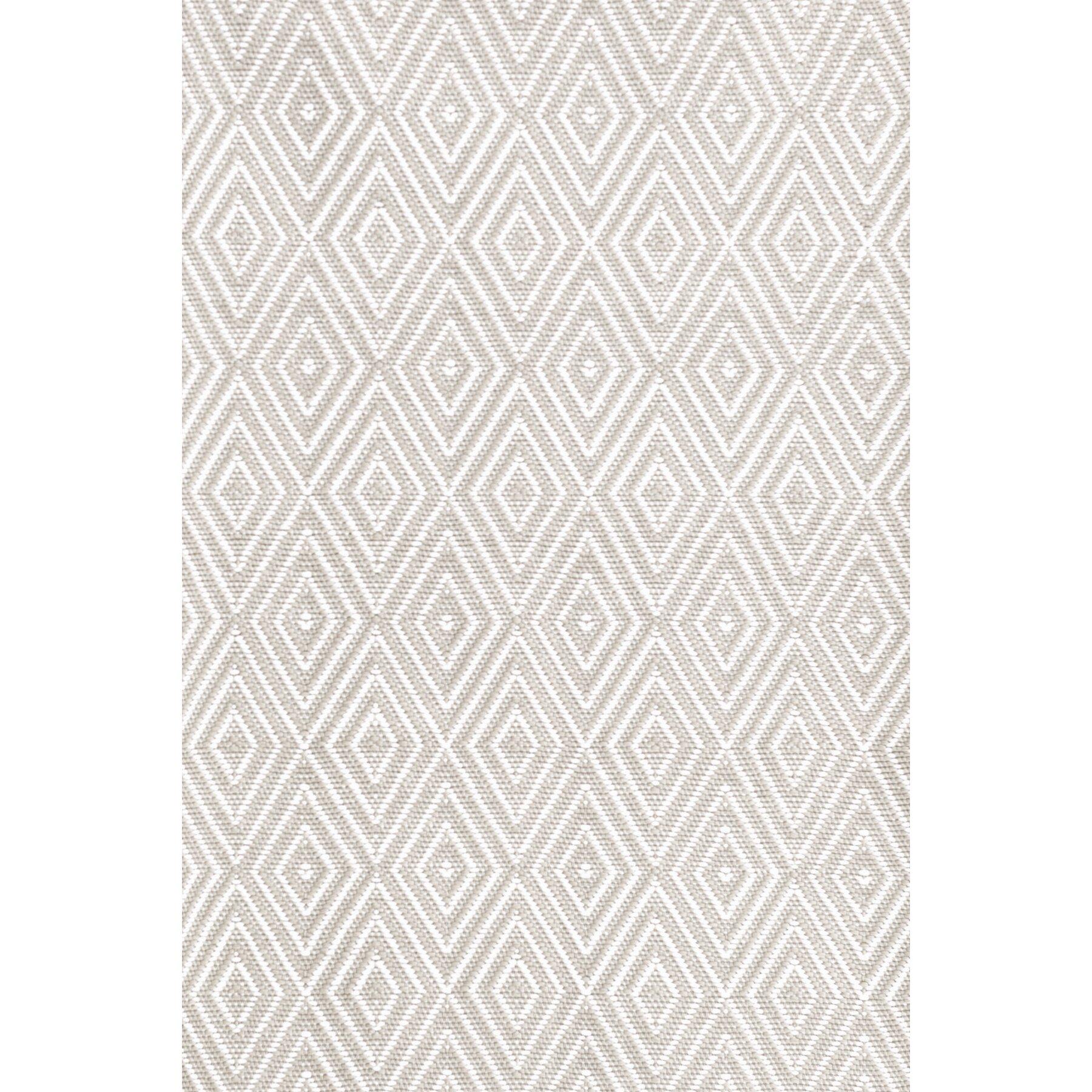 dash and albert rugs indoor outdoor white grey area rug reviews wayfair. Black Bedroom Furniture Sets. Home Design Ideas