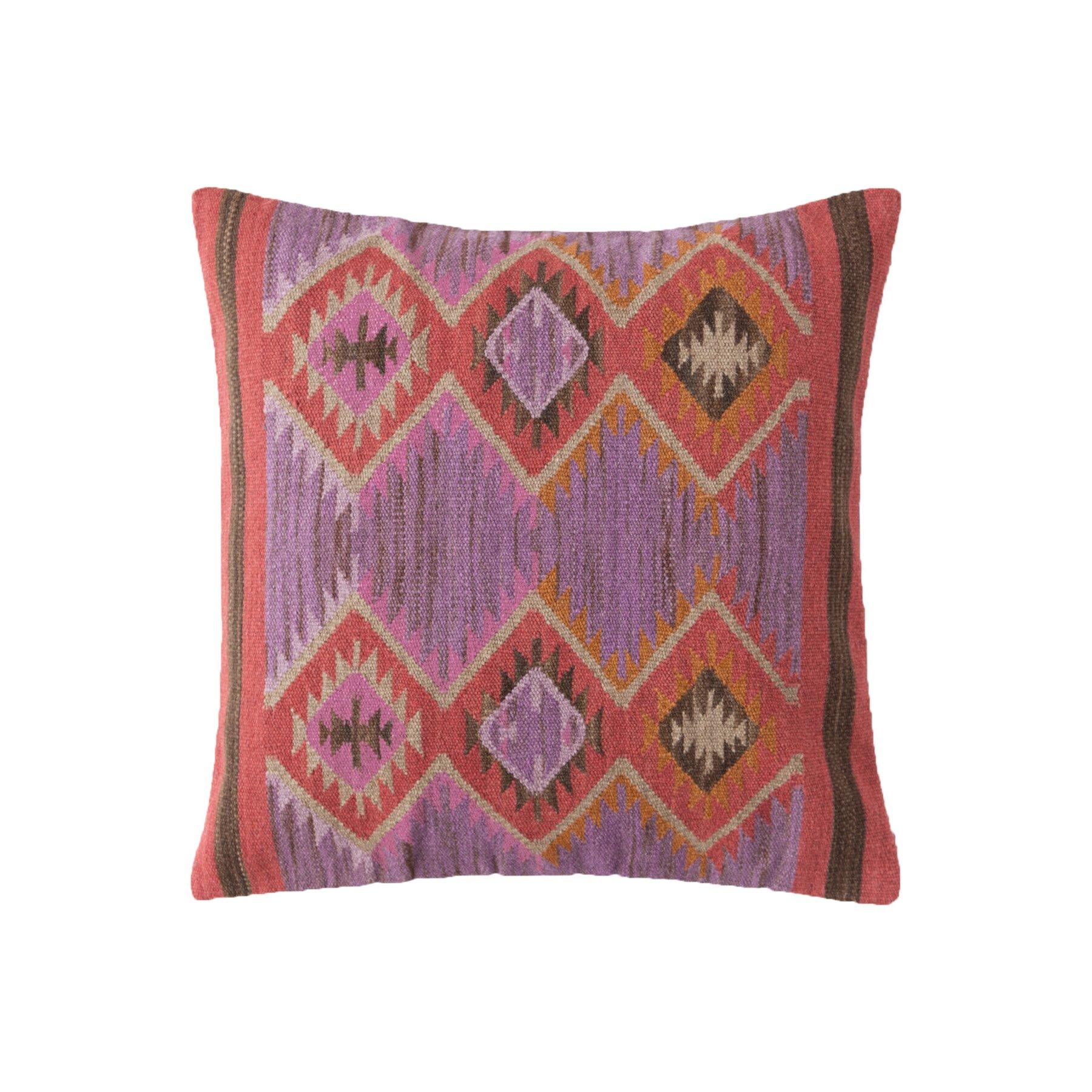 Dash and albert rugs rhapsody euro pillow allmodern for Dash and albert blanket