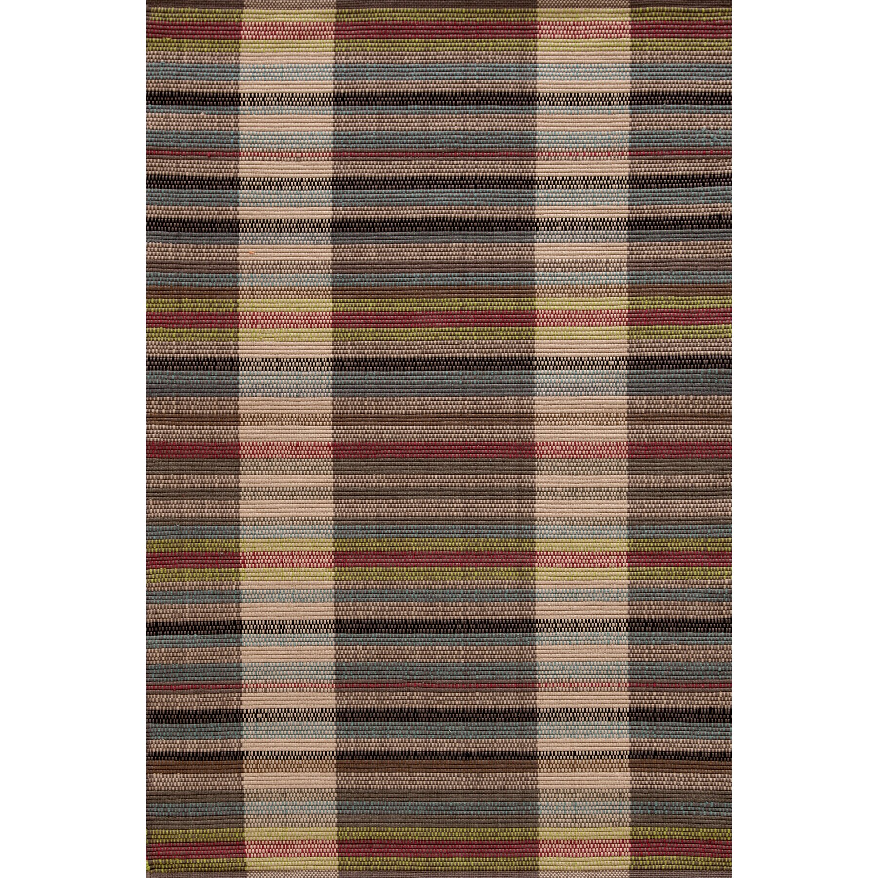 Swedish rag hand woven indoor outdoor area rug wayfair for Woven vinyl outdoor rugs