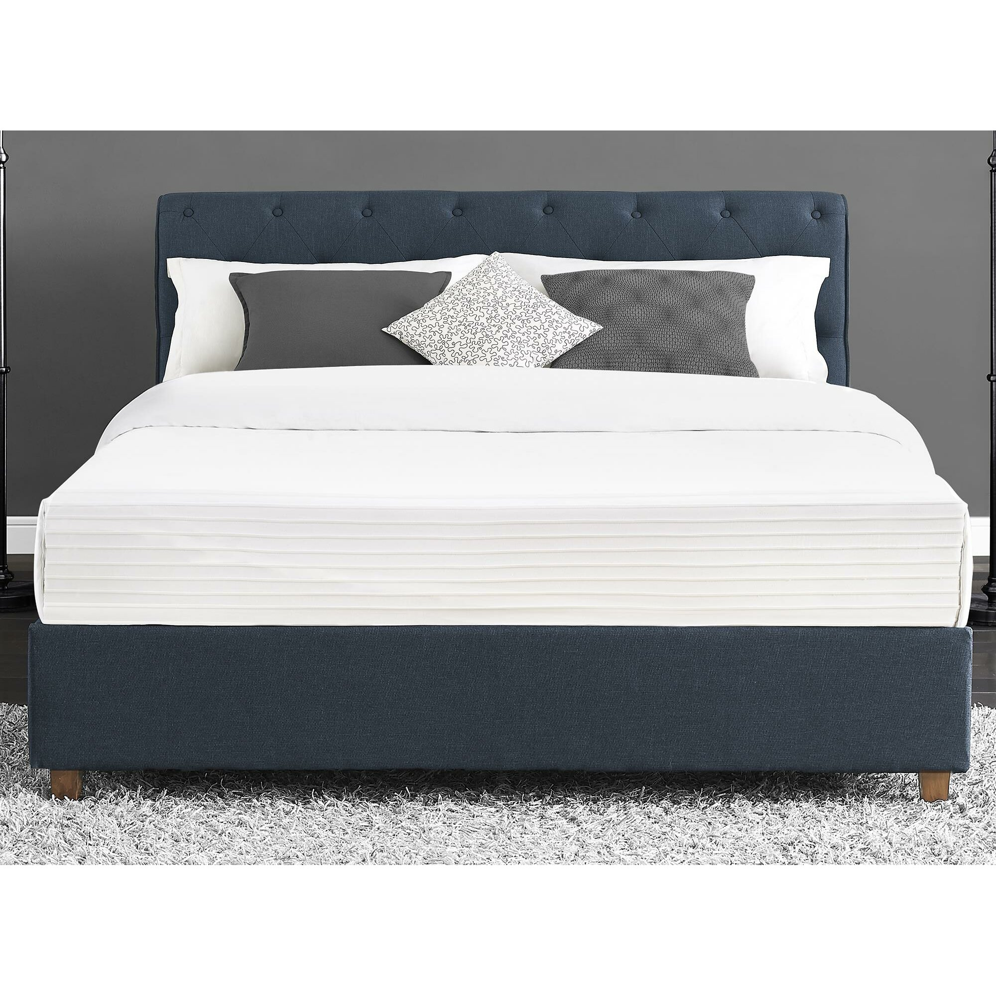 Upholstered Platform Bed : Carmela Upholstered Platform Bed  Wayfair
