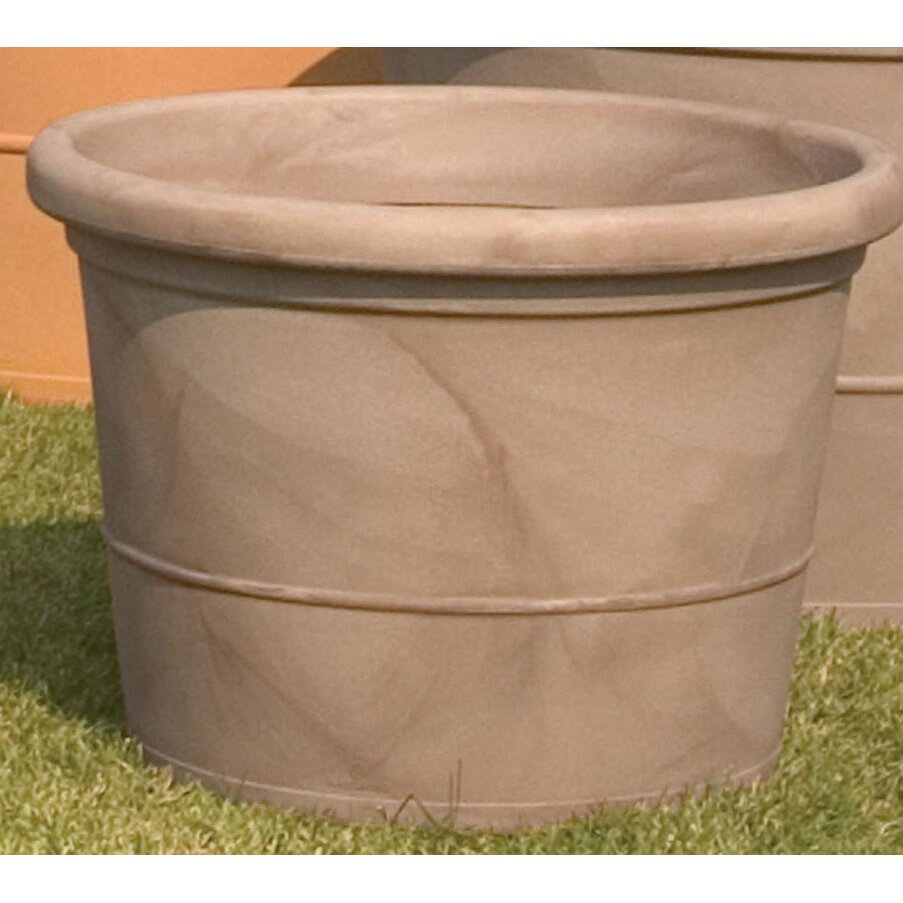 Marchioro Round Pot Planter Amp Reviews Wayfair