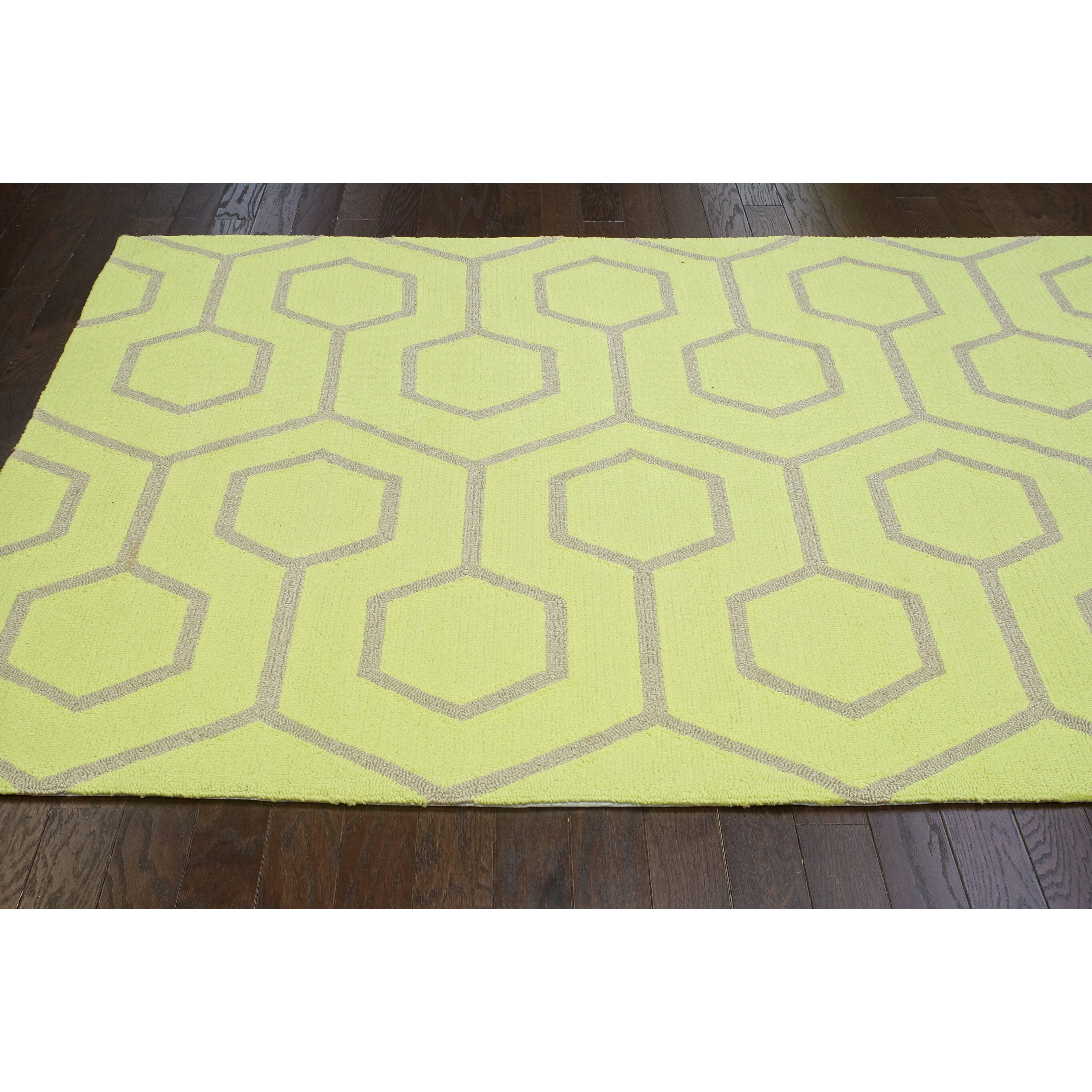 nuLOOM Air Libre Limelight Charles Indoor Outdoor Area Rug