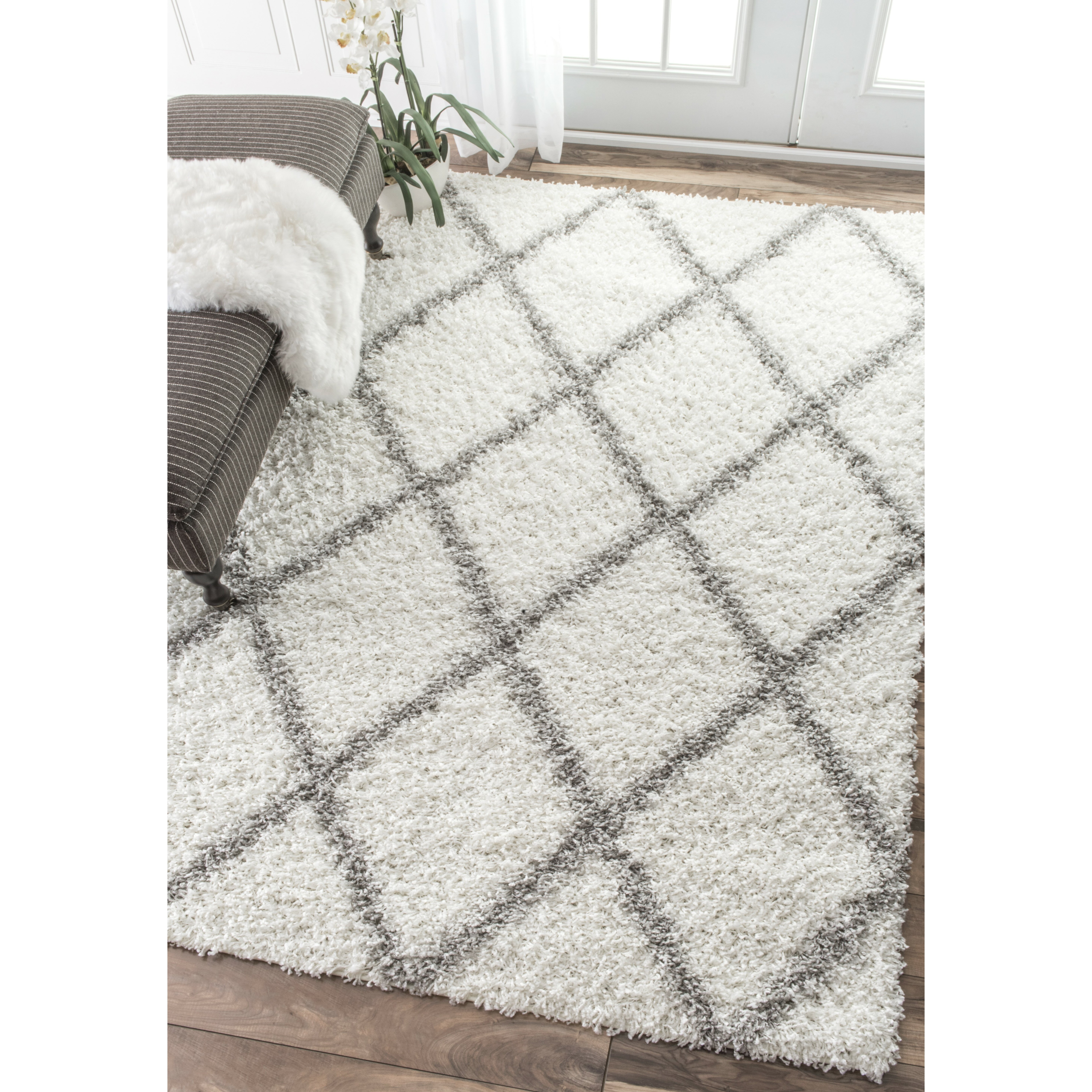 Nuloom Shanna Off White Area Rug Amp Reviews Wayfair
