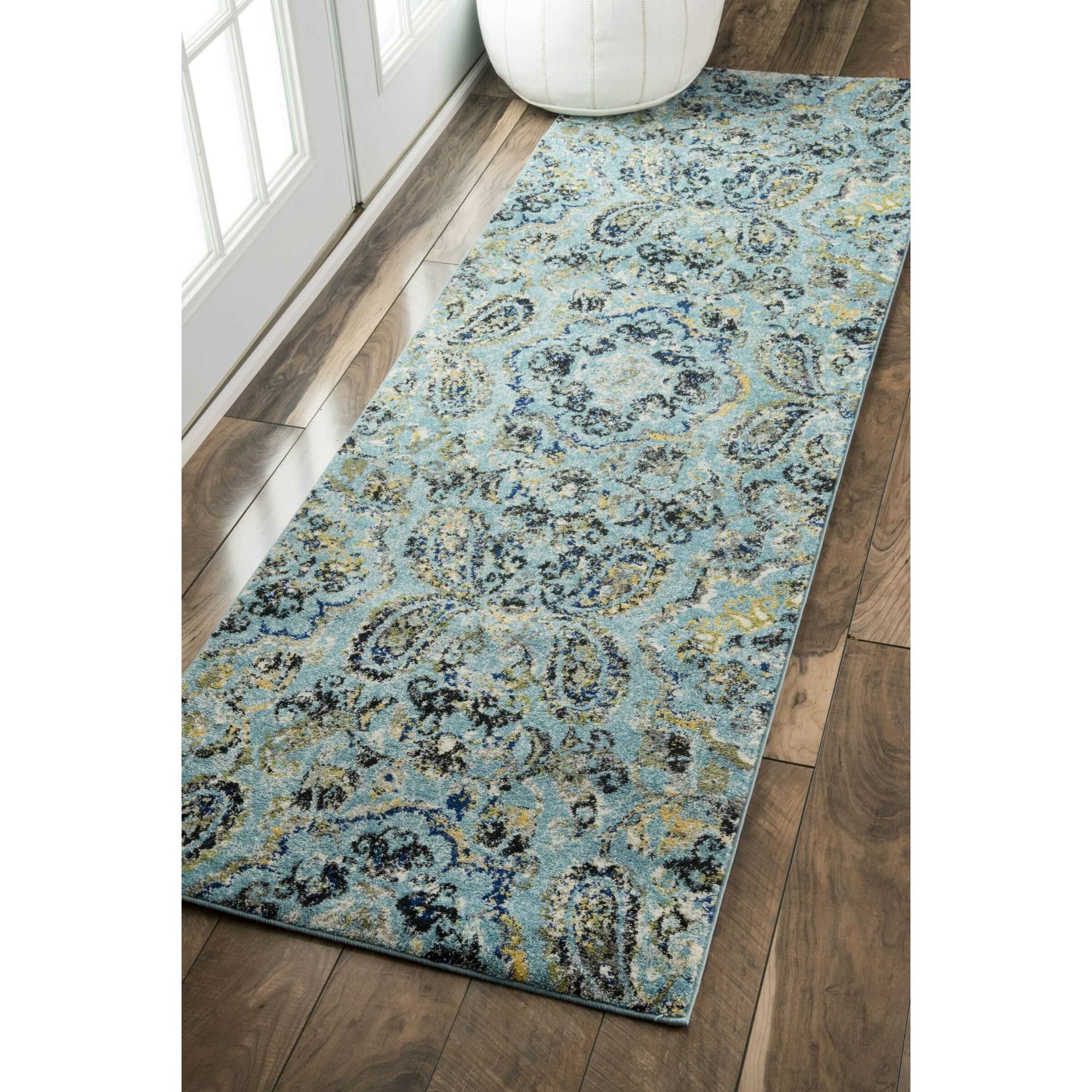 NuLOOM Taunya Aqua Area Rug & Reviews