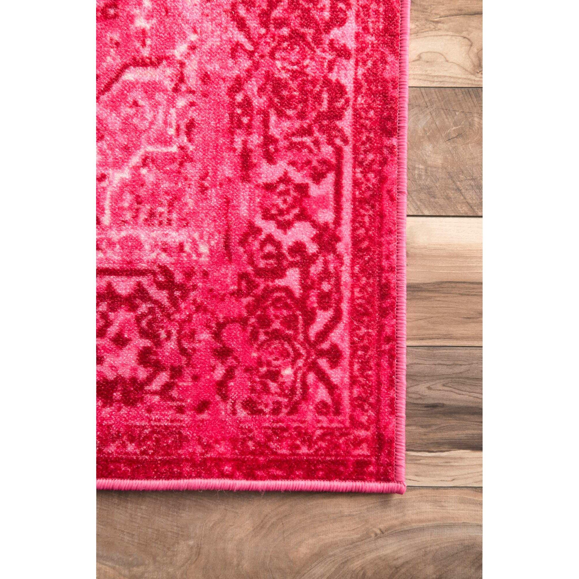 Reiko Pink Area Rug