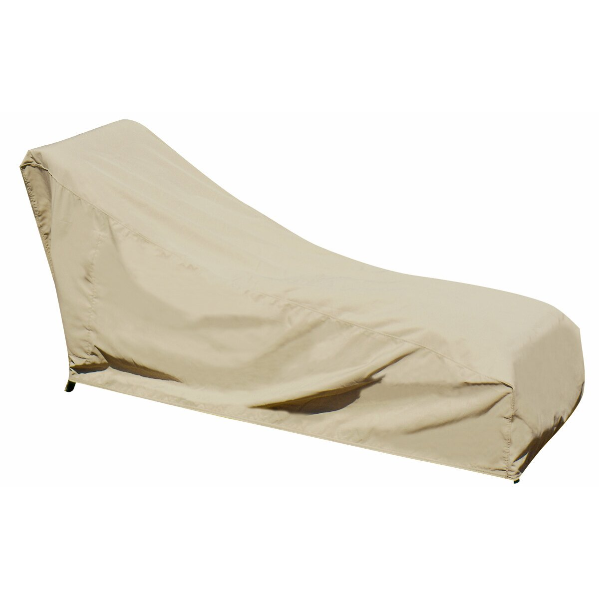 Blue Wave Chaise Lounge Winter Cover in Beige