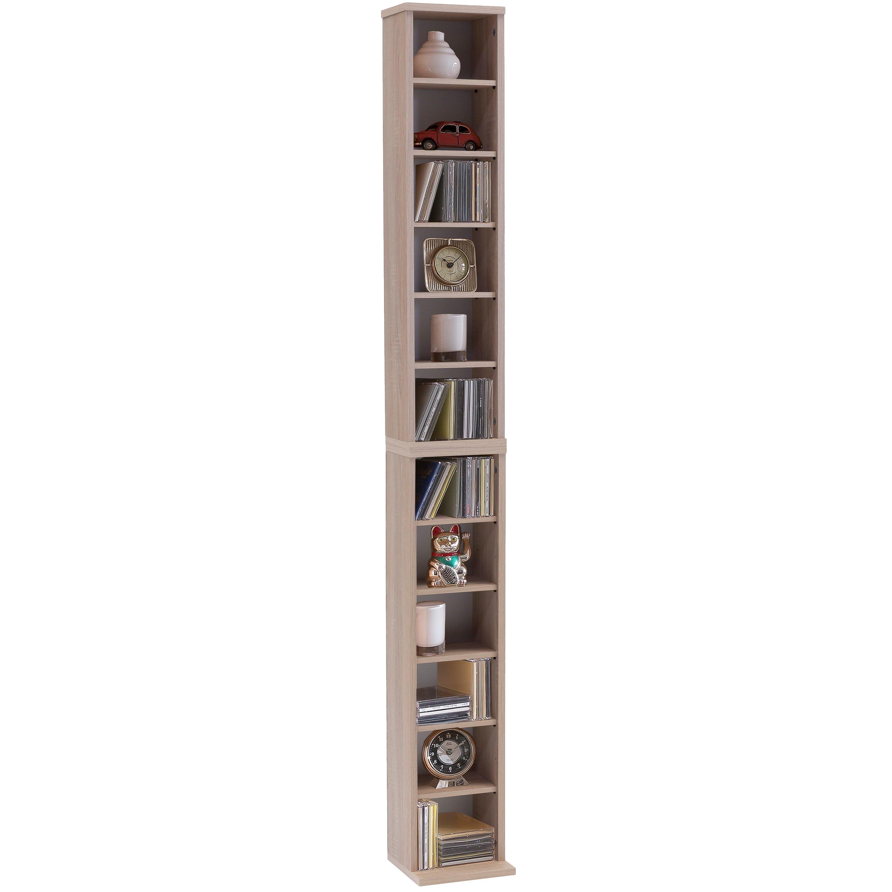 vcm bigol cd shelf reviews wayfair uk. Black Bedroom Furniture Sets. Home Design Ideas