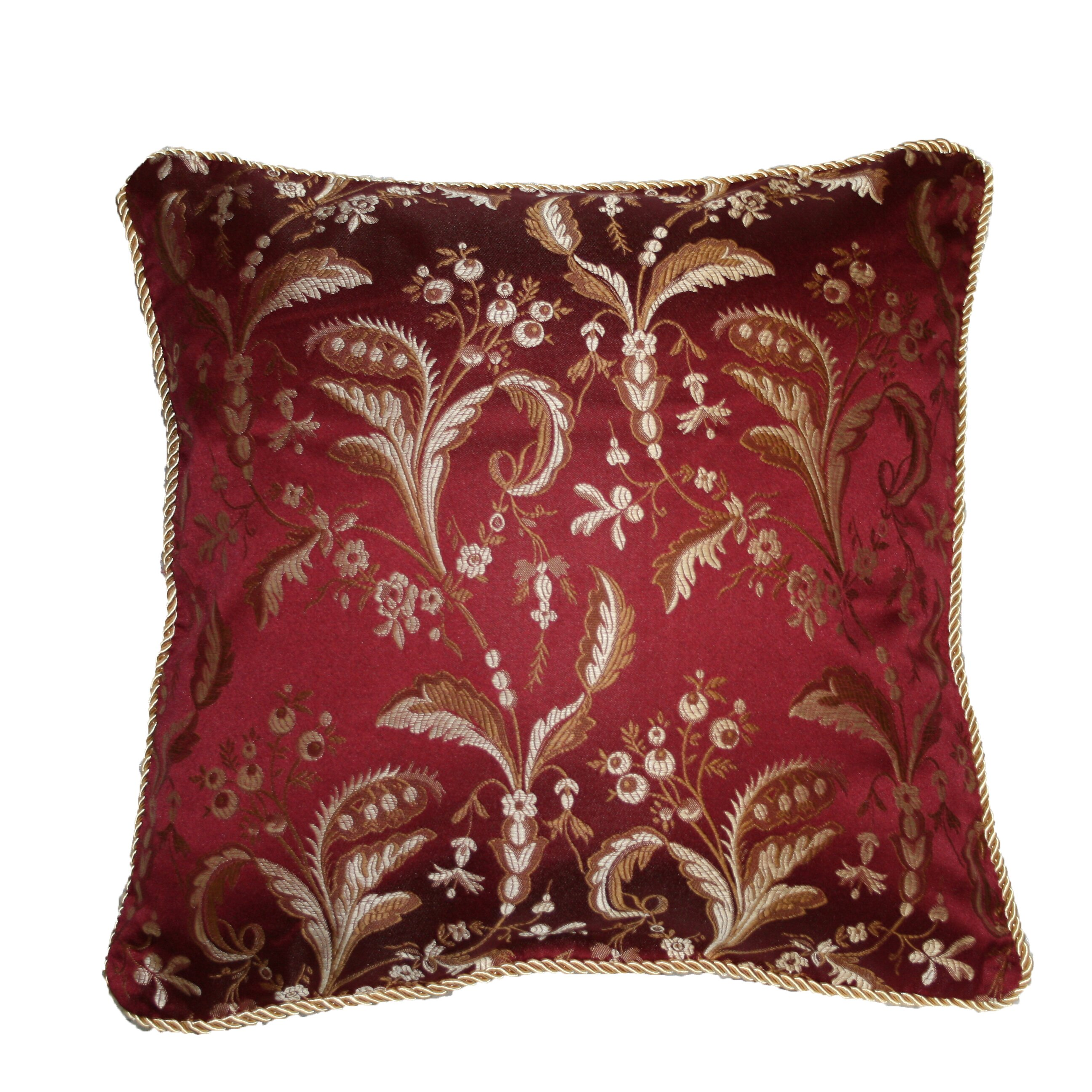 Wayfair Decorative Pillow Covers : Legacy Damask Design Decorative Pillow Cover Wayfair