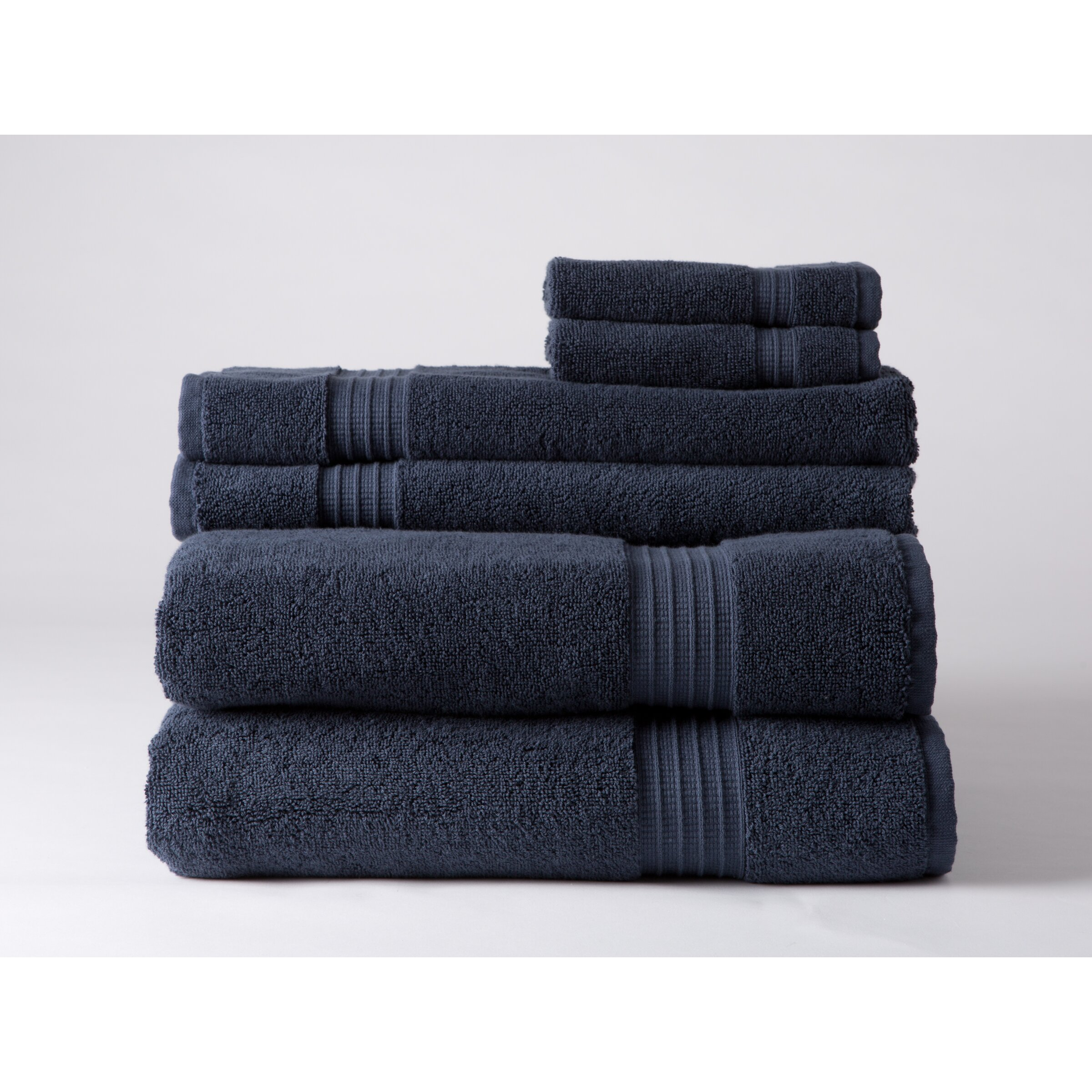 Home Source International Luxury 6 Piece Towel Set