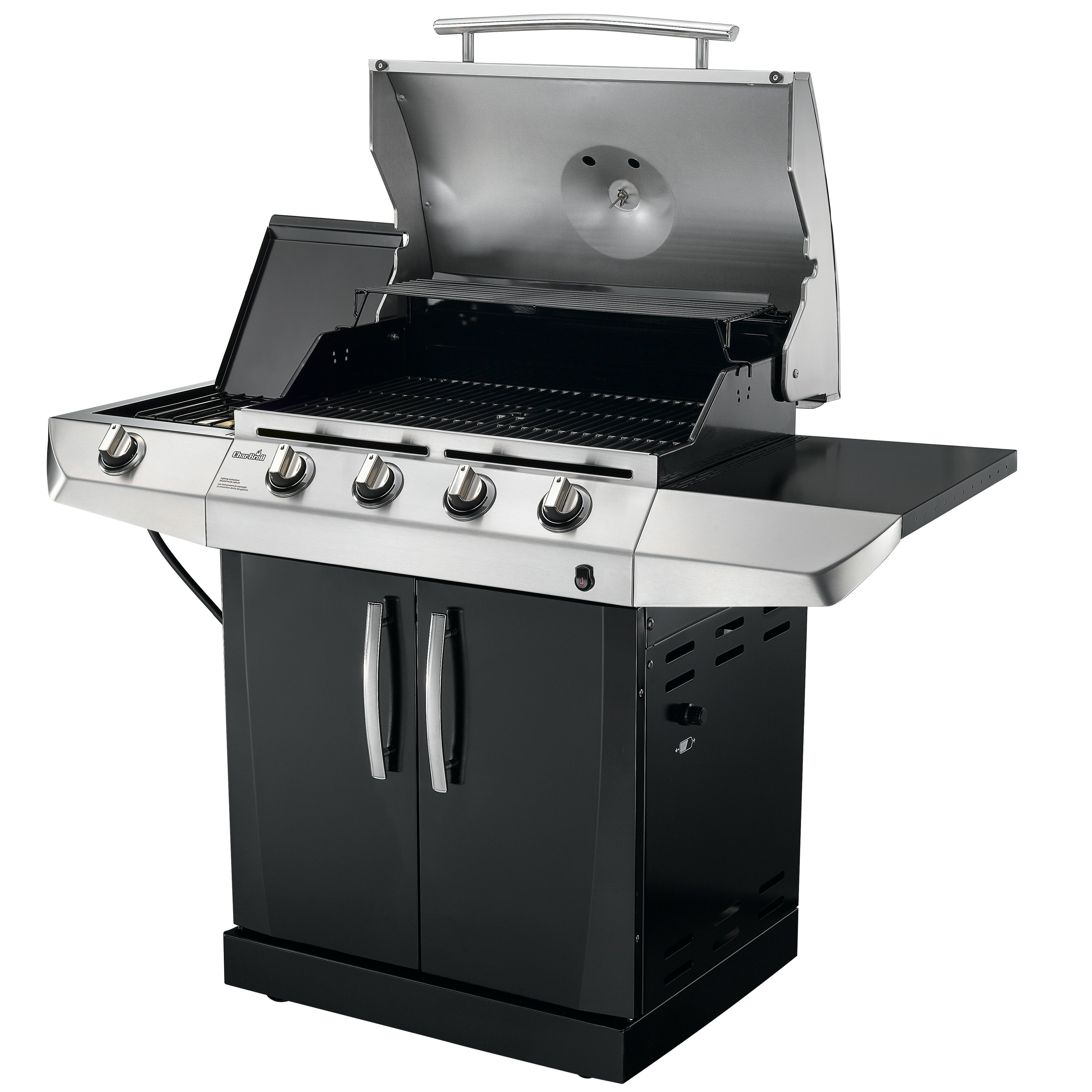 Sides On The Grill: Gas Grill With Side Burner