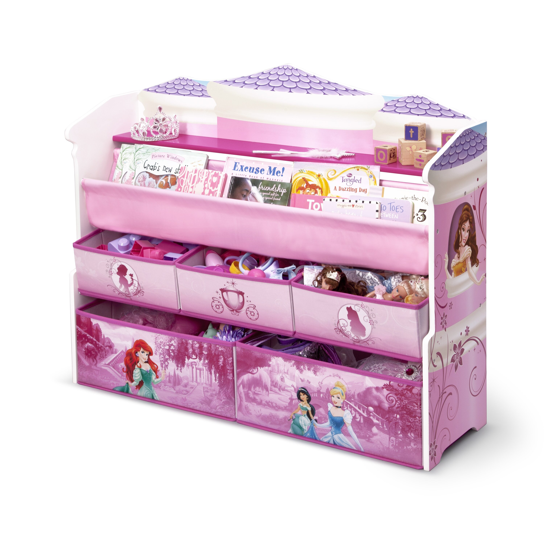 Disney Princess Deluxe Book Amp Toy Organizer Wayfair
