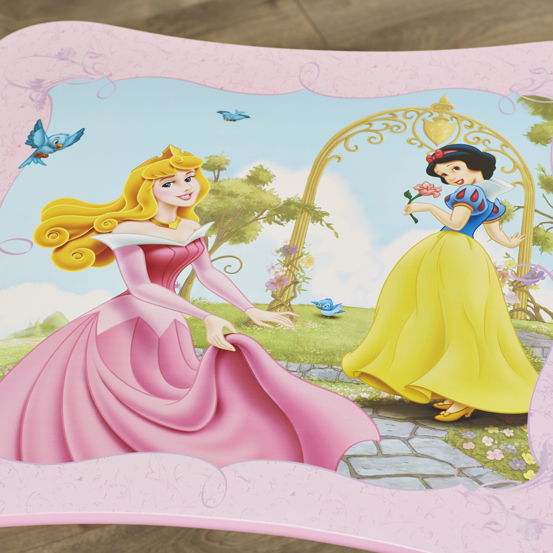 Disney Princess Kids 3 Piece Table Amp Chair Set Wayfair