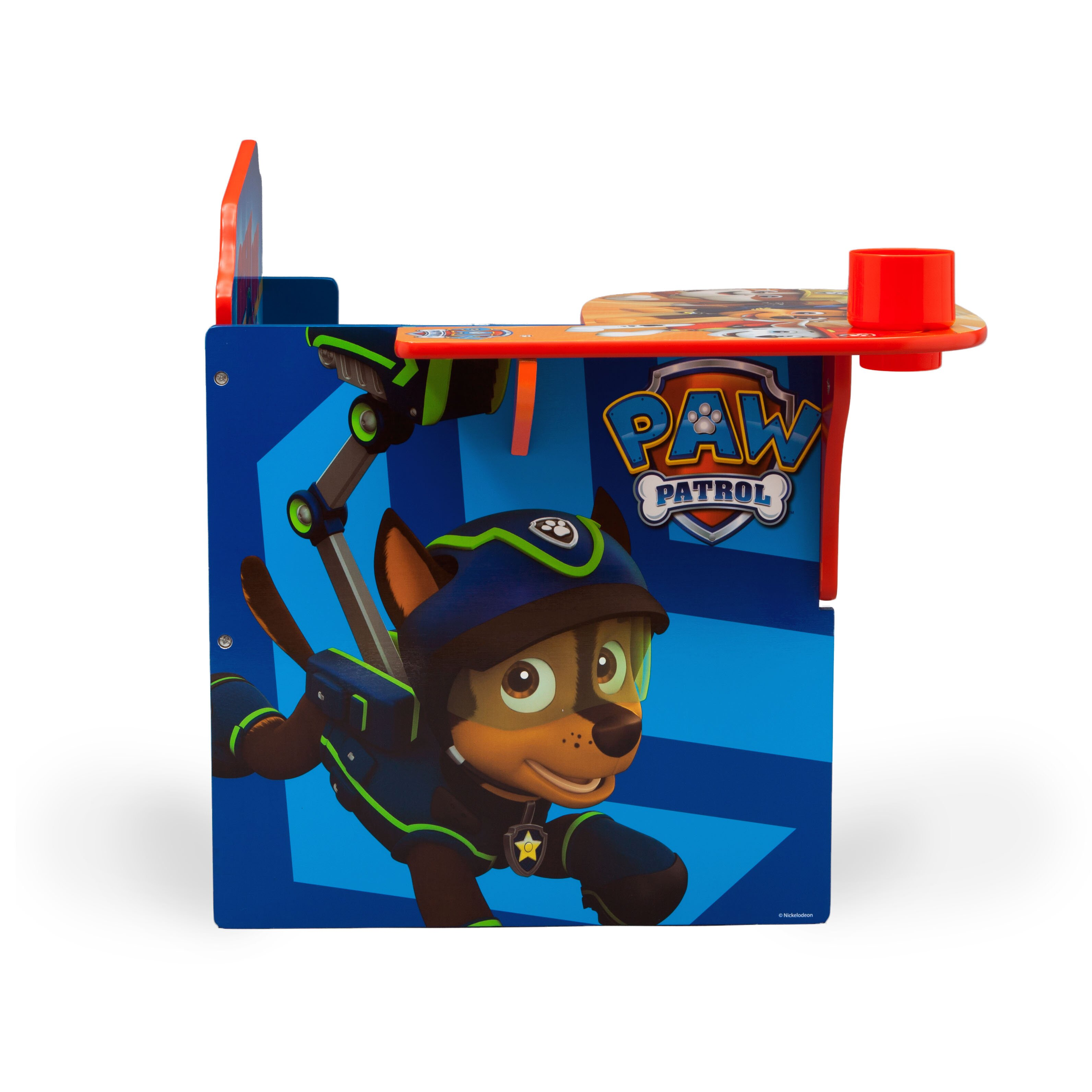 Nick Jr Paw Patrol Kids Desk Chair With Storage