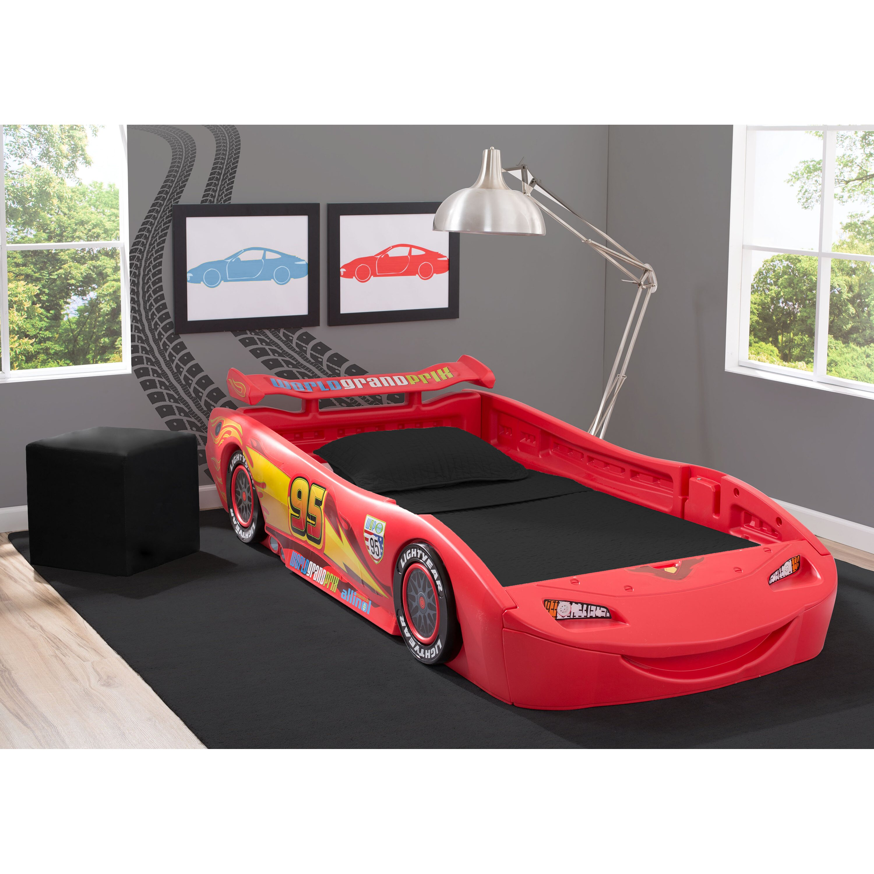 Disney Pixar Cars Twin Bed With Lights Wayfair