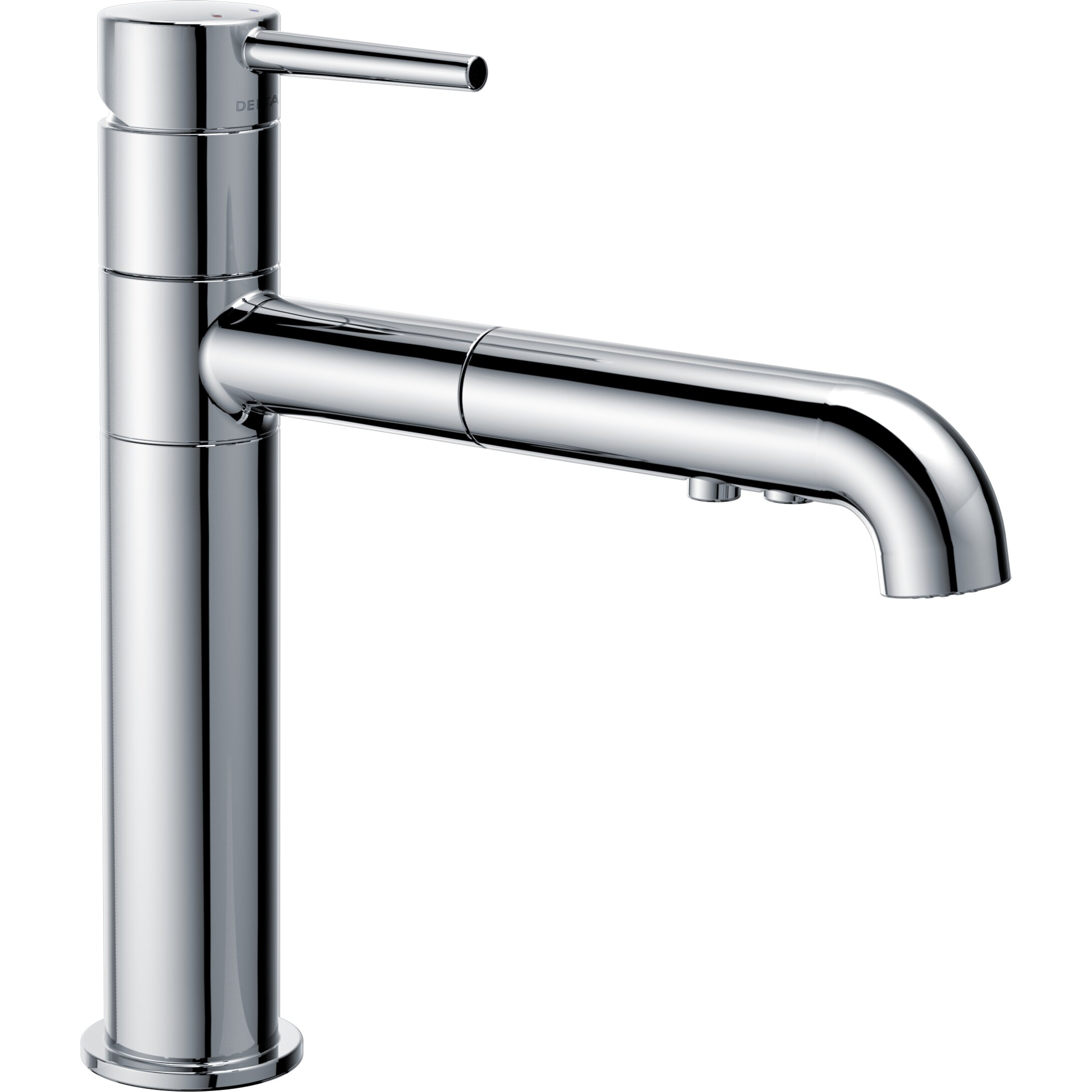 trinsic single handle pull out kitchen faucet reviews wayfair
