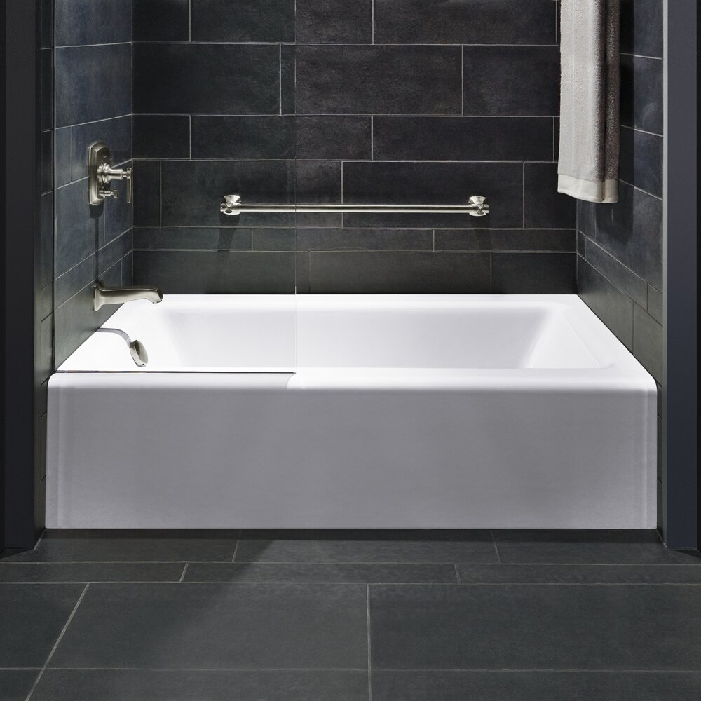 Kohler Bellwether Alcove 60 Quot X 32 Quot Soaking Bathtub