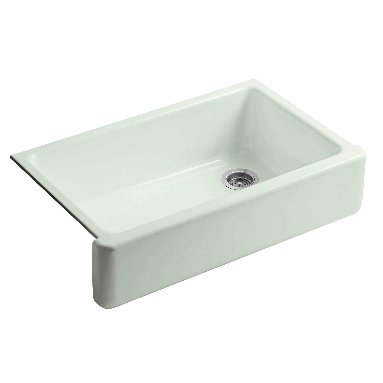 Kohler Sink Protectors : ... Undermount Single-Bowl Kitchen Sink with Tall Apron by Kohler