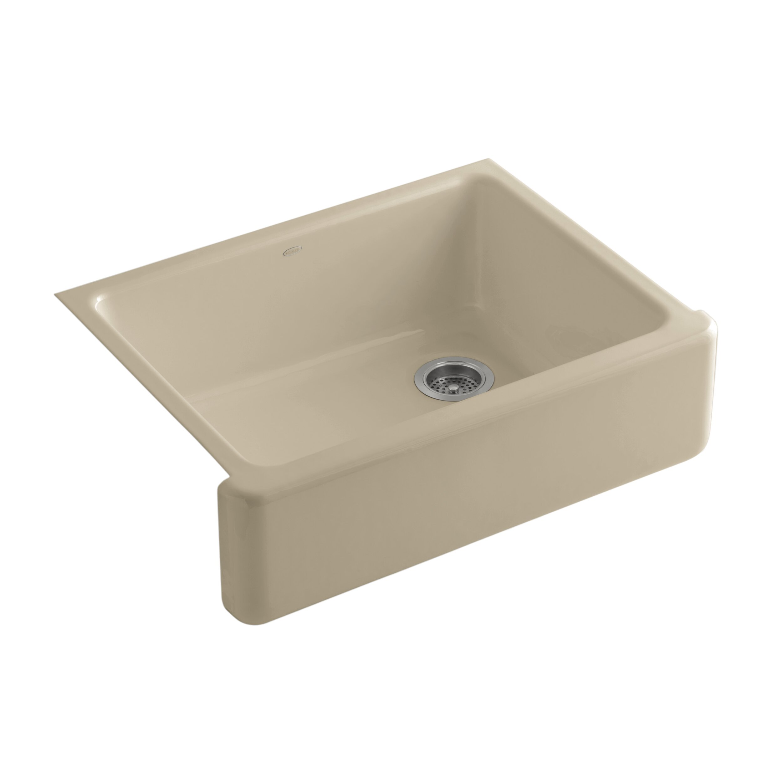 Whitehaven Self Trimming   X   Undermount Single Bowl Kitchen Sink