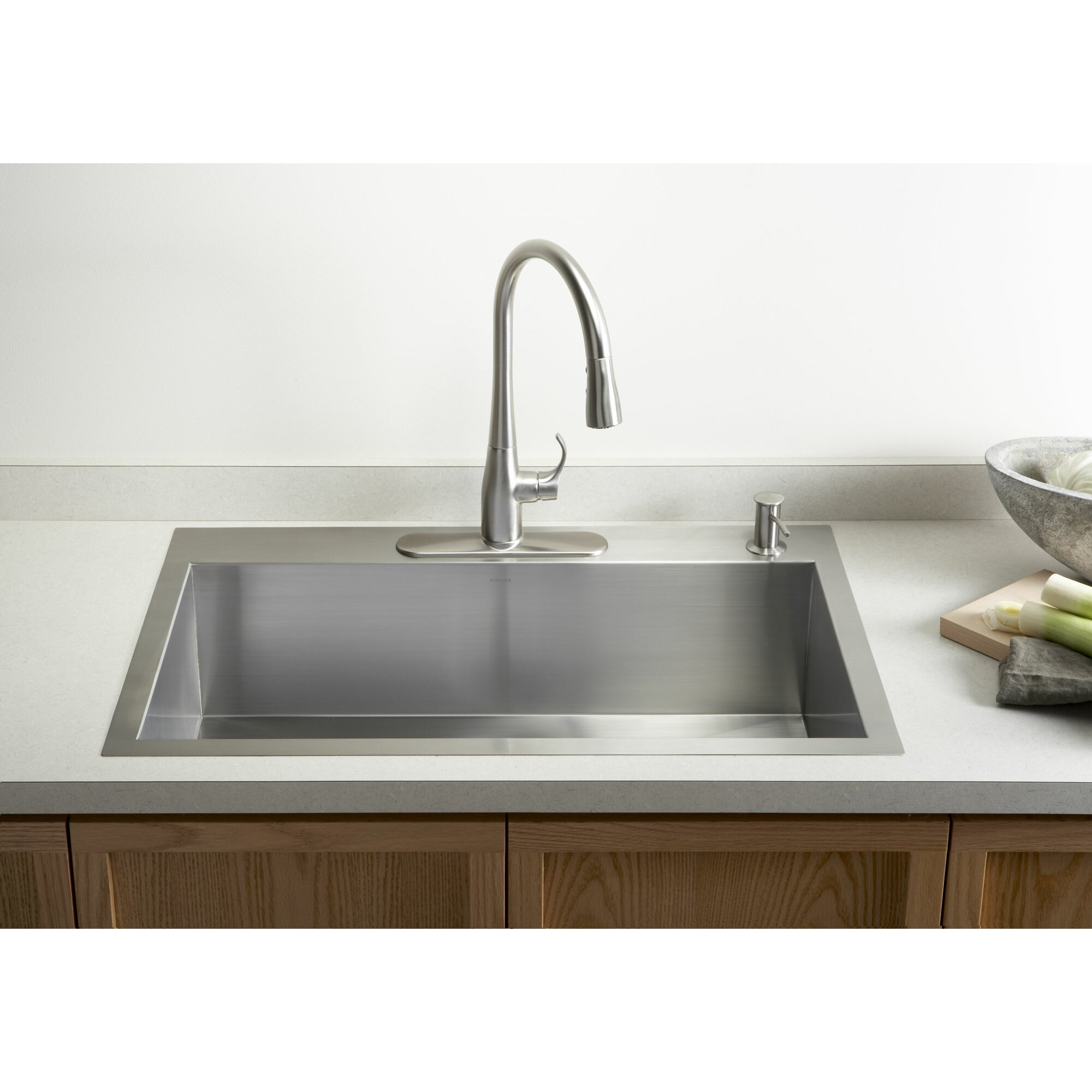 single bowl vs double bowl kitchen sink