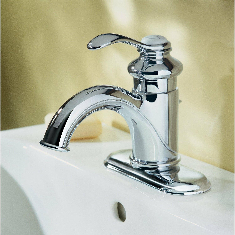 Kohler Single Lever Kitchen Faucet Parts: Fairfax Centerset Bathroom Sink Faucet With Single Lever