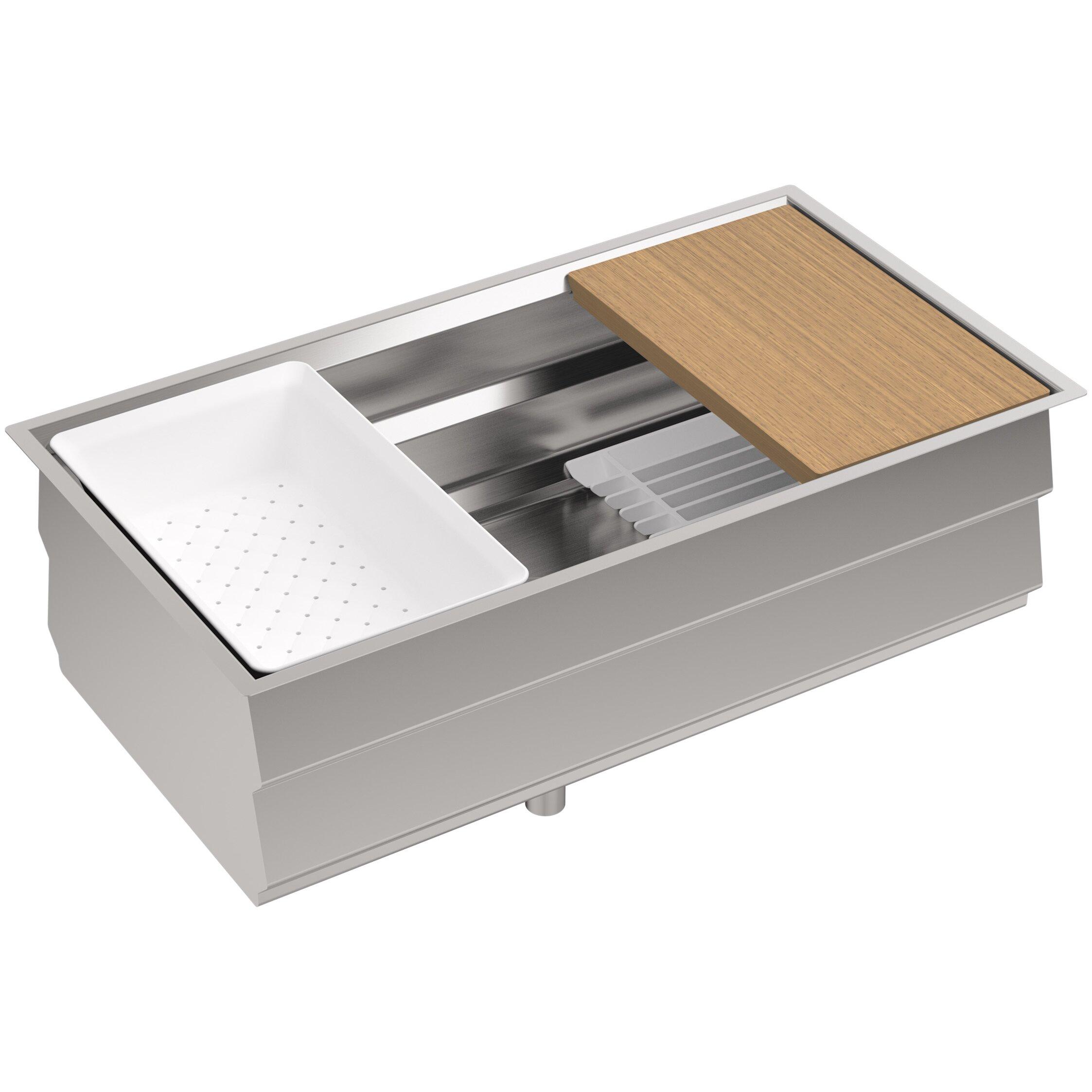 Kohler Sink Protectors : Kohler Prolific 33