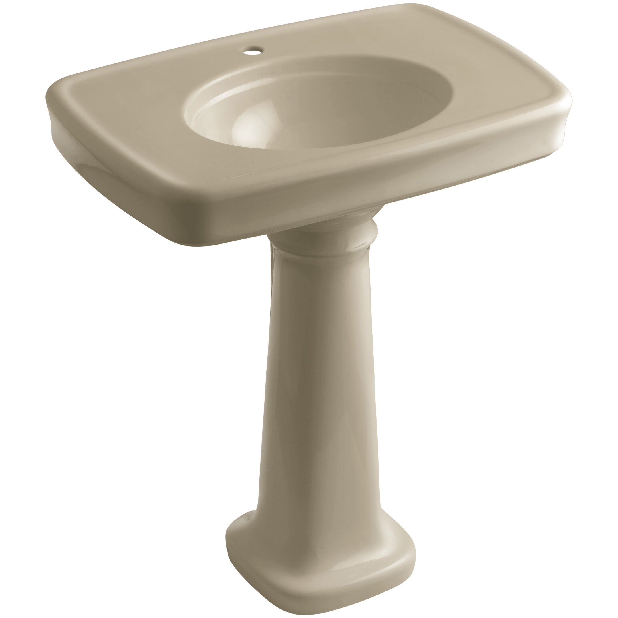 Kohler Bancroft 30 Quot Pedestal Bathroom Sink With Single