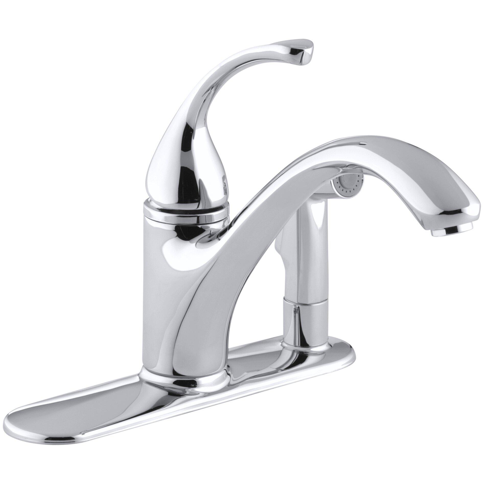 ... kitchen faucet reviews and kohler fairfax kitchen faucet warranty
