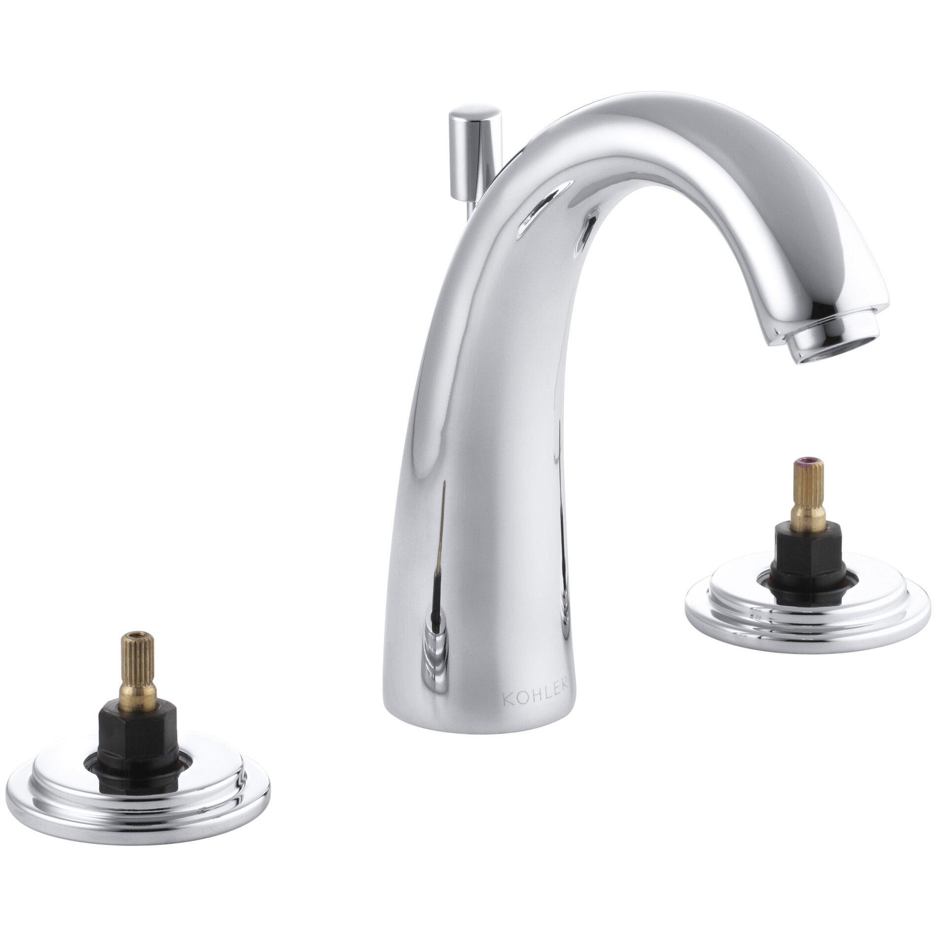 Kohler Taboret Widespread Bathroom Sink Faucet With High