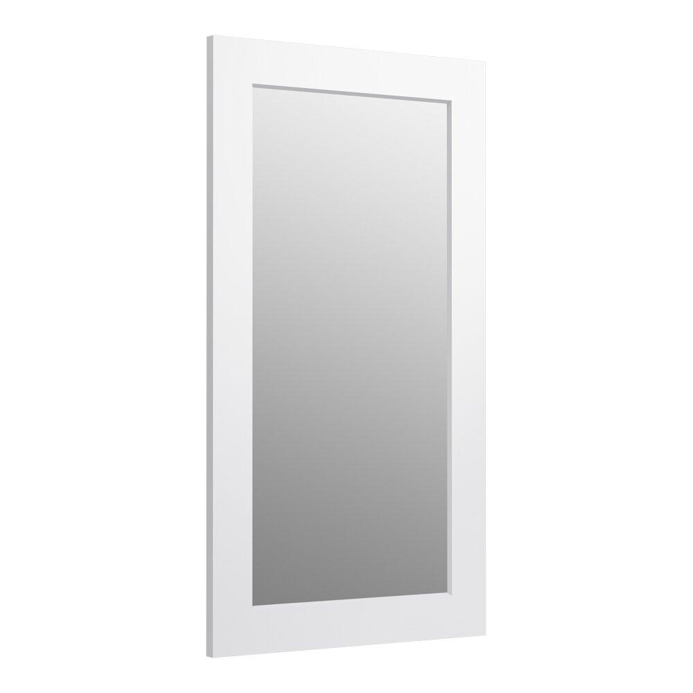 Wonderful KOHLER Evandale 235in W X 32in H Lily Rectangular Bathroom Mirror