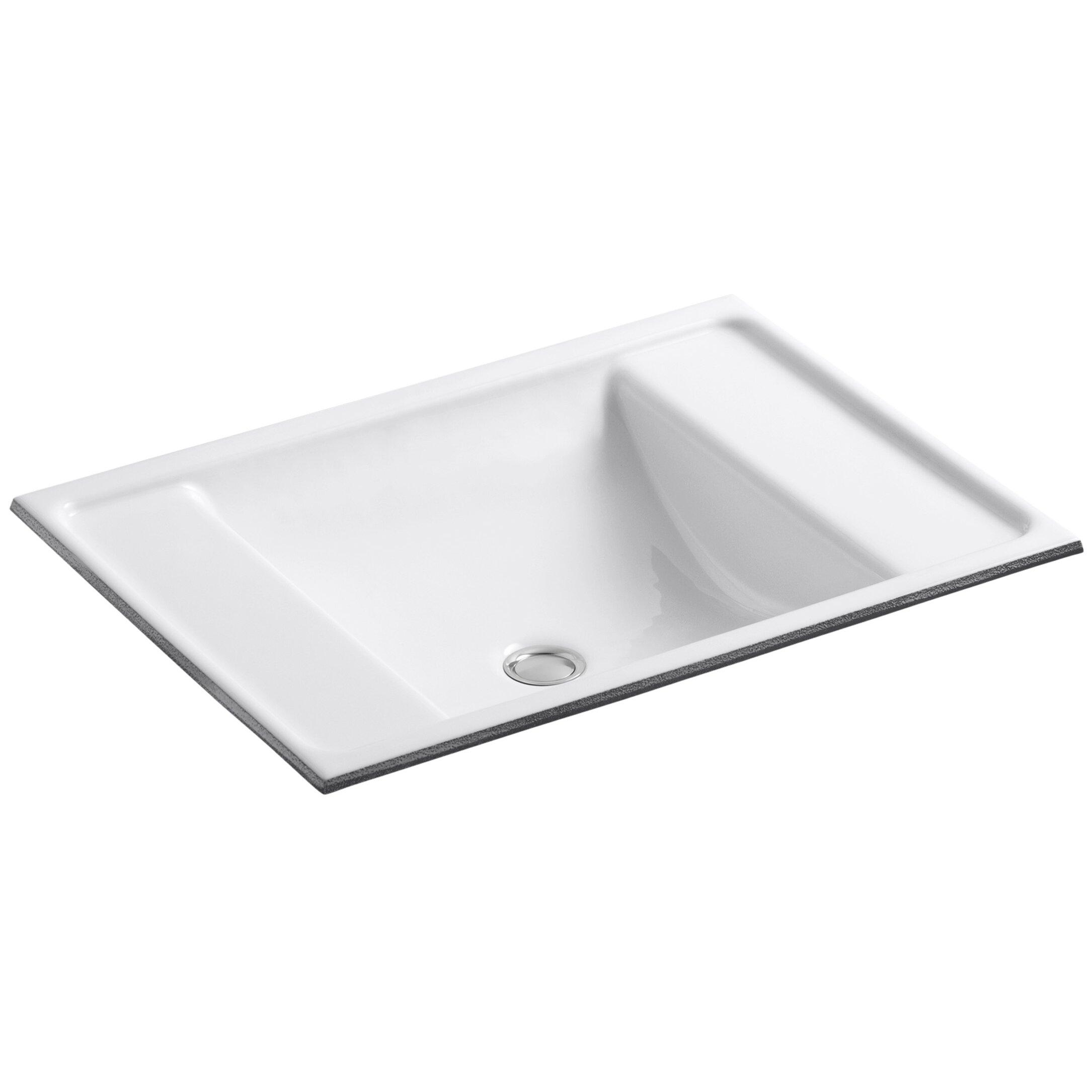 Kohler Ledges Undermount Bathroom Sink & Reviews Wayfair