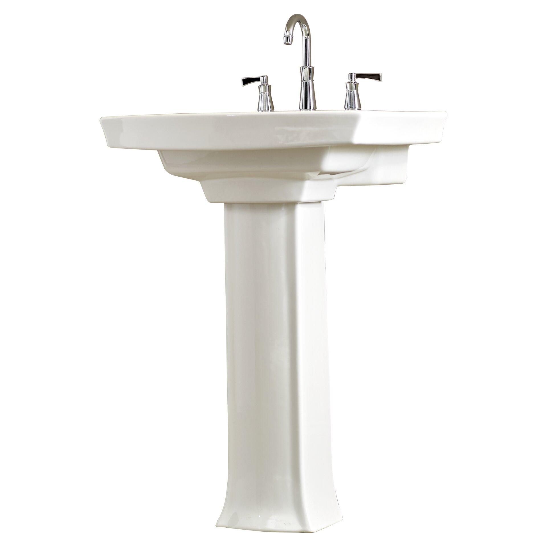 Archer Pedestal Sink : Kohler Archer Pedestal Sink Wayfair