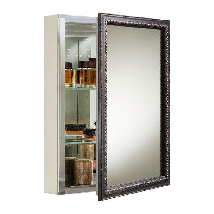 20 Quot X 26 Quot Wall Mount Mirrored Medicine Cabinet With Mirrored Door Wayfair