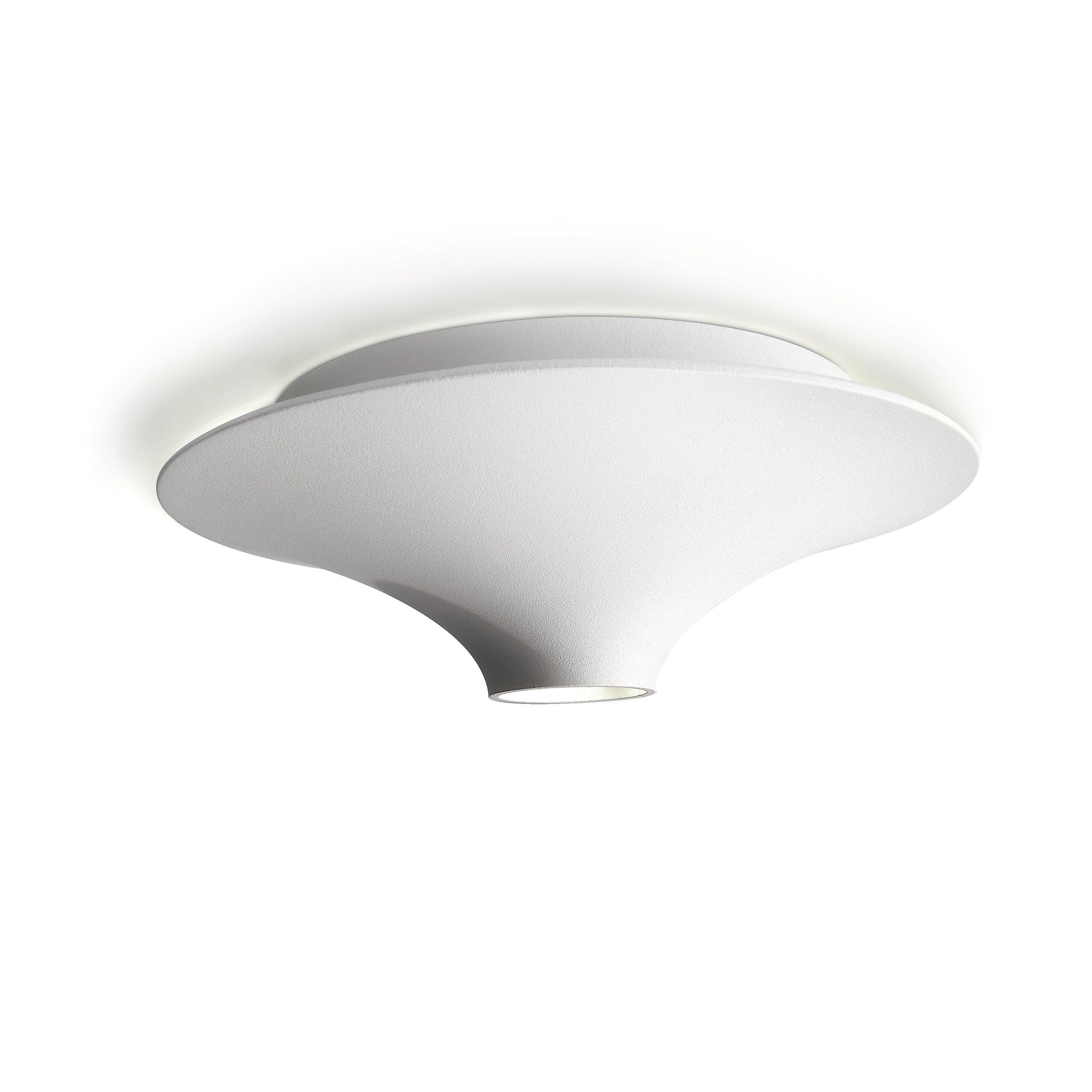 philips consumer luminaire 1 light flush mount allmodern. Black Bedroom Furniture Sets. Home Design Ideas