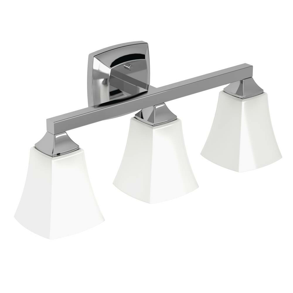 Three Light Bathroom Vanity Light: Voss 3 Light Bath Vanity Light