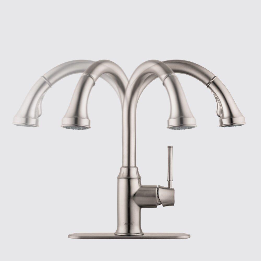 subtle hansgrohe talis c higharc kitchen faucet reviews nav login