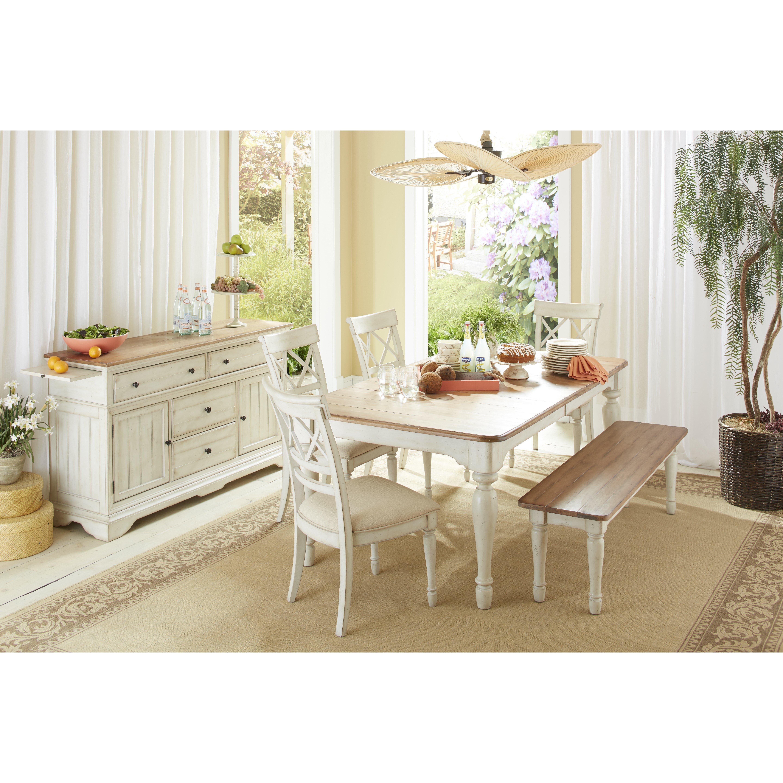 cottage dining table wayfair. Black Bedroom Furniture Sets. Home Design Ideas