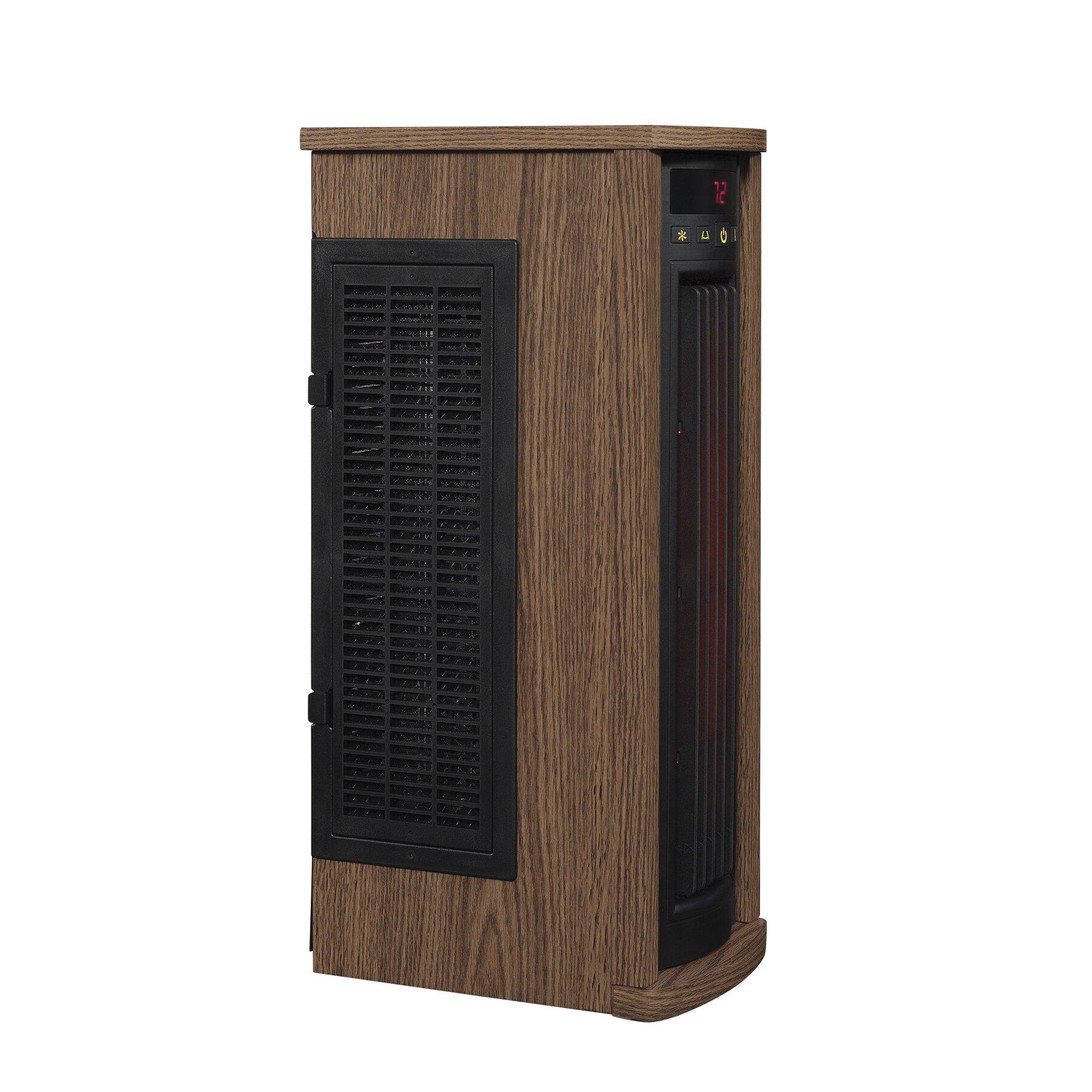 1,500 Watt Portable Electric Infrared Tower Heater & Reviews | Wayfair