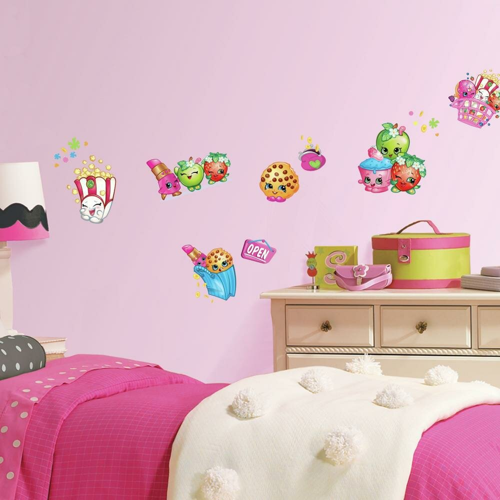 Shopkins Peel And Stick Wall Decals Wayfair