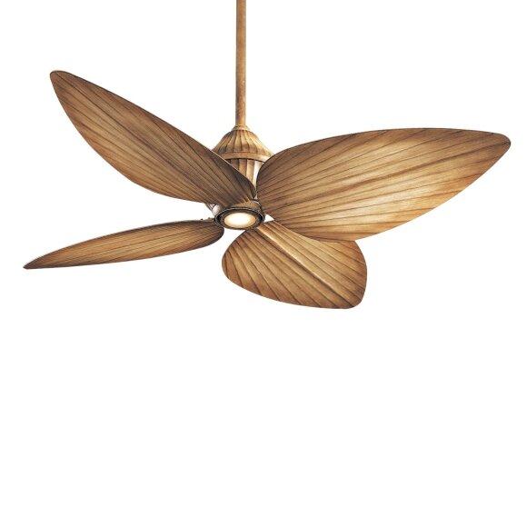52 Gauguin Tropical 4 Blade Indoor Outdoor Ceiling Fan