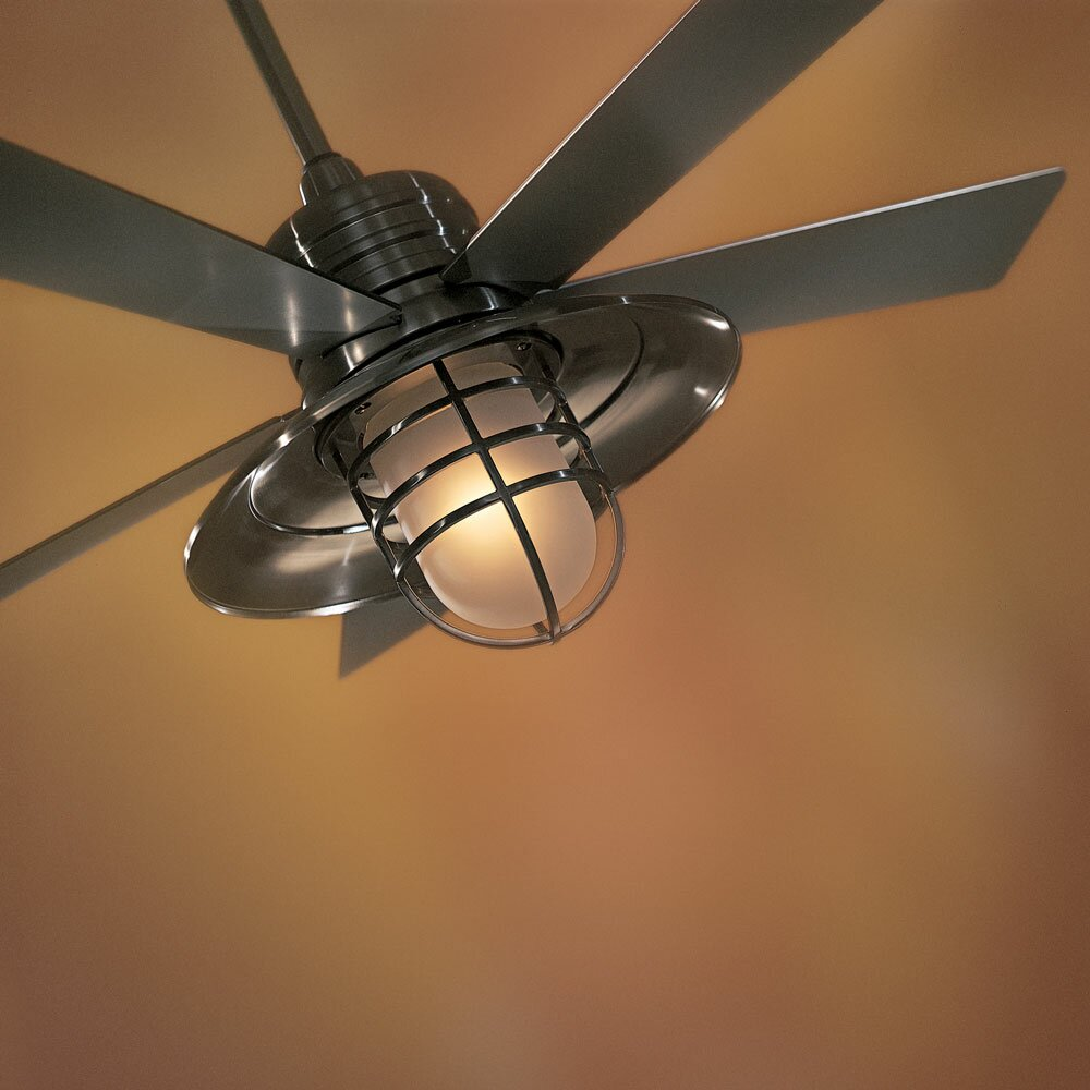Minka Aire 54 Quot Rainman 5 Blade Ceiling Fan Amp Reviews Wayfair