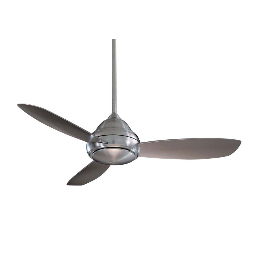 "Minka Aire 44"" Concept I 3 Blade Ceiling Fan With Remote"