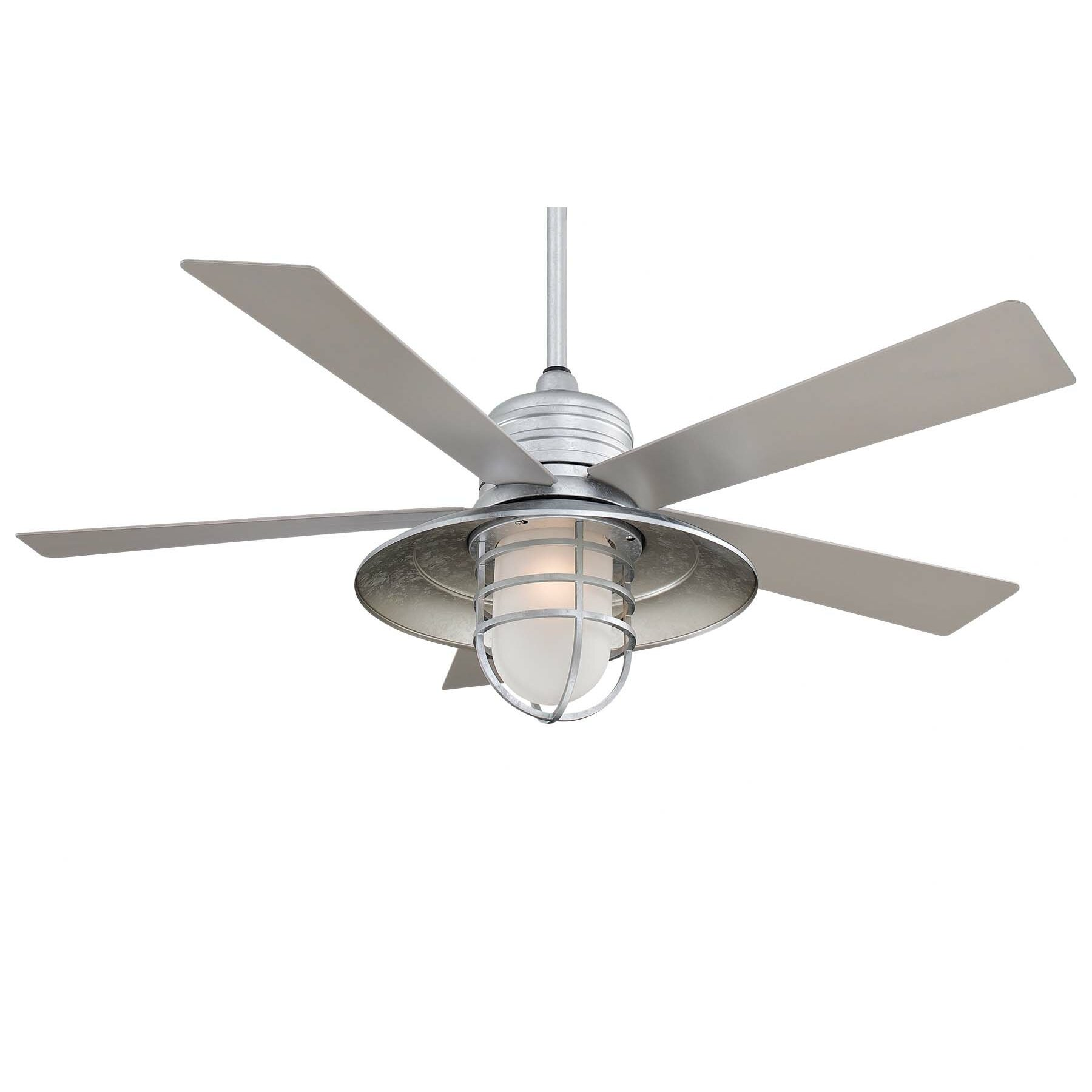 "Minka Aire 54"" RainMan 5 Blade Indoor Outdoor Ceiling"