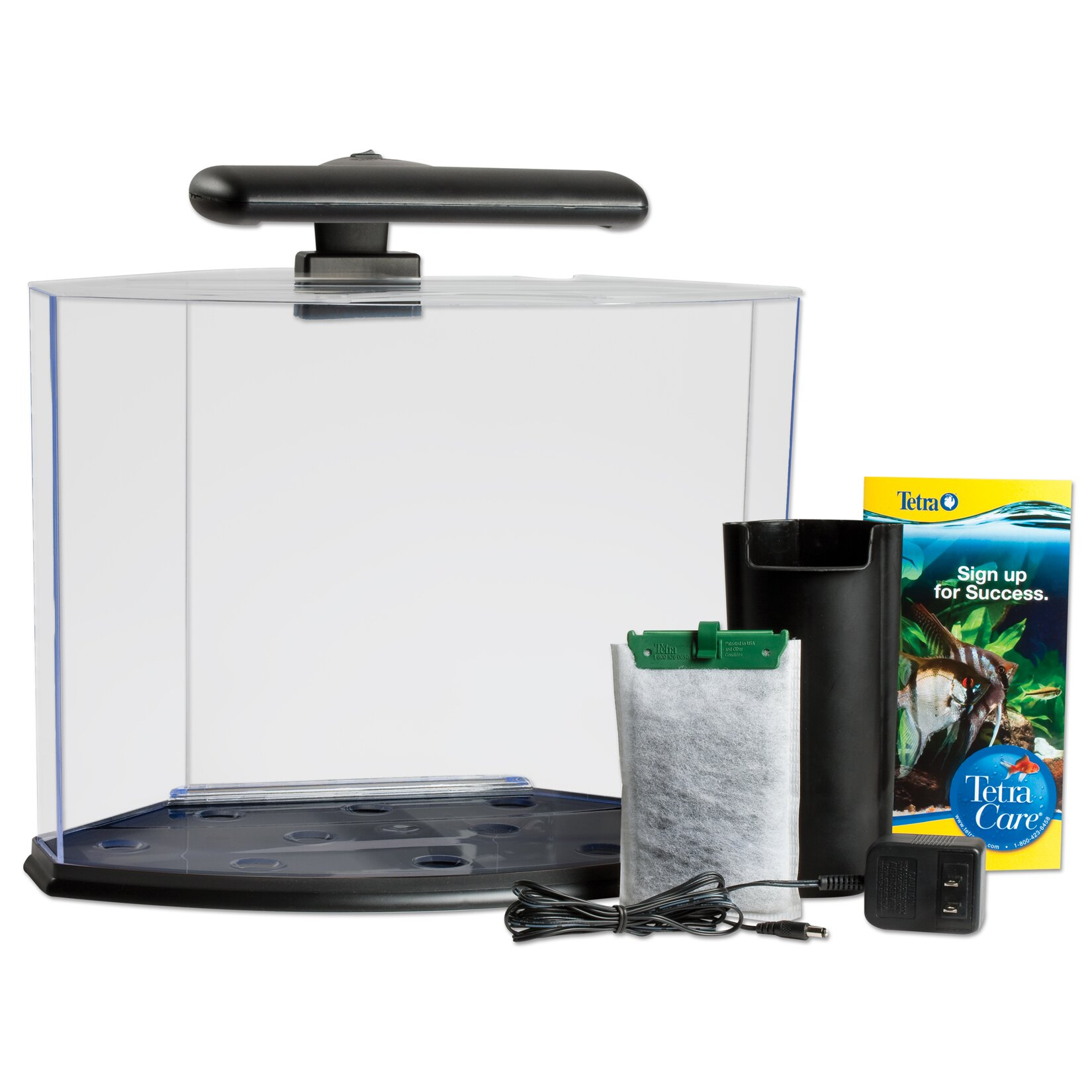 Tetra 5 Gallon Crescent Aquarium Kit Reviews Wayfair