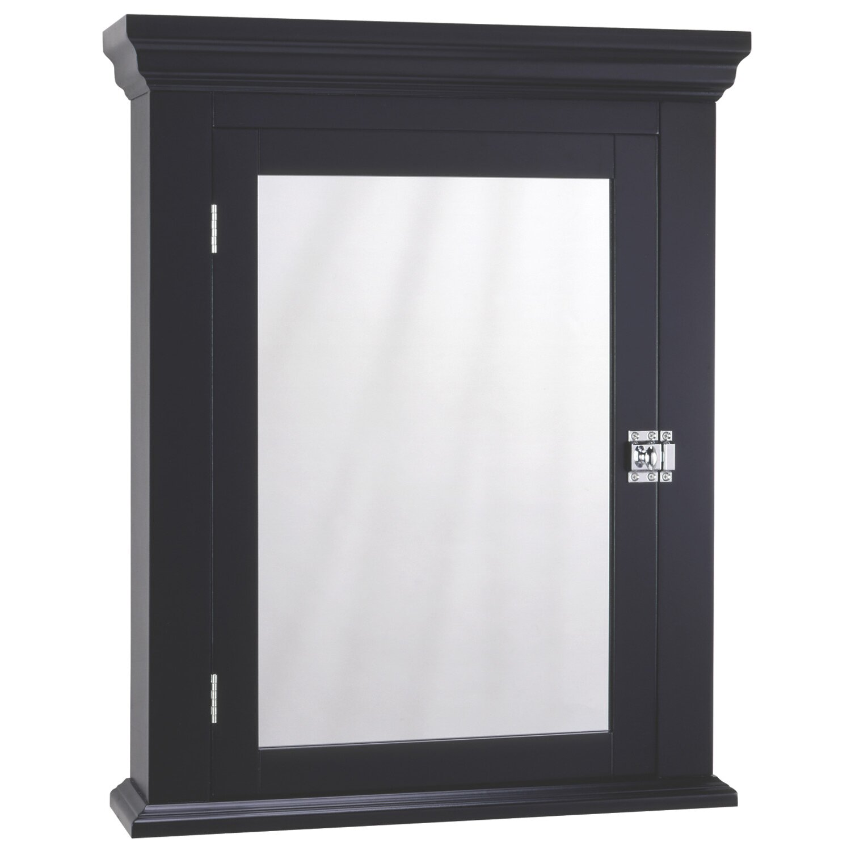 x wall mounted medicine cabinet wayfair. Black Bedroom Furniture Sets. Home Design Ideas